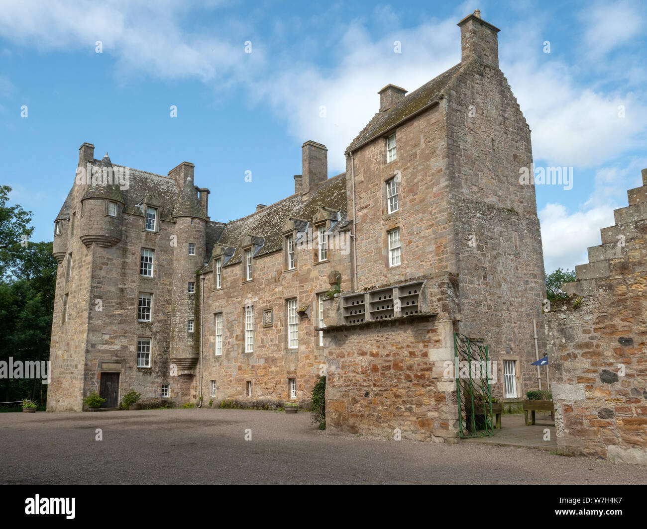 Kellie Castle, Fife, Scotland Stock Photo