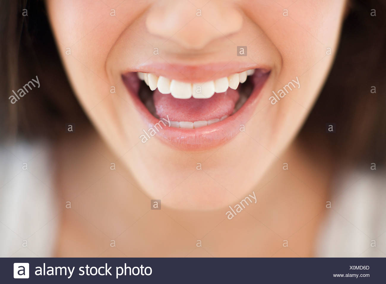 Healthy smile - Stock Image