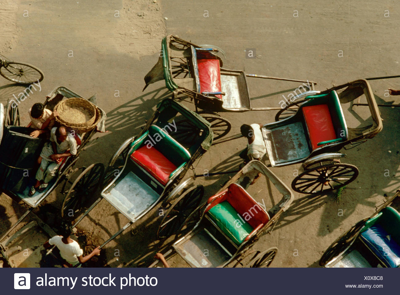Rickshaws - Stock Image