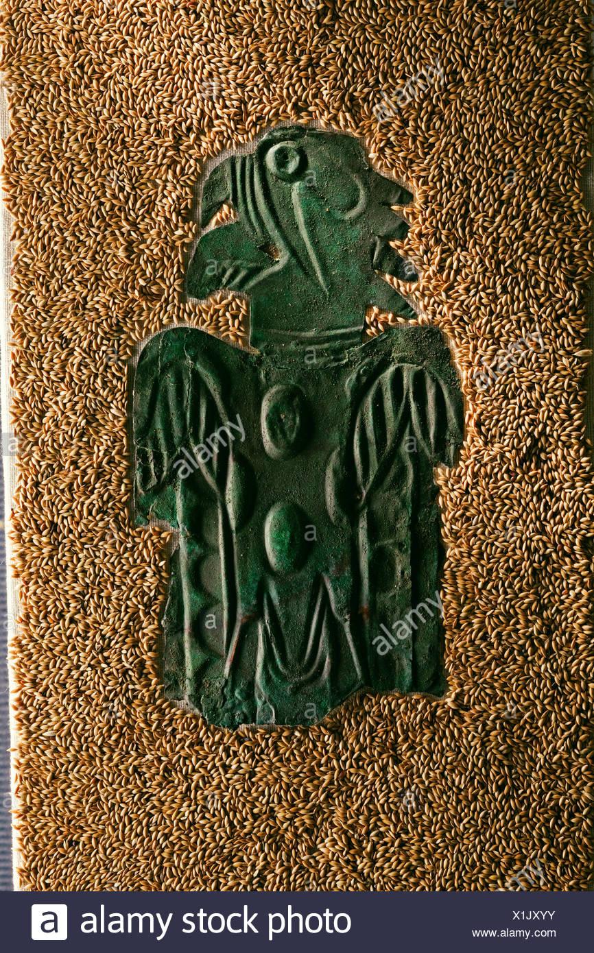 Mississippian Artifacts Stock Photos & Mississippian ... Birdman Head Tattoo