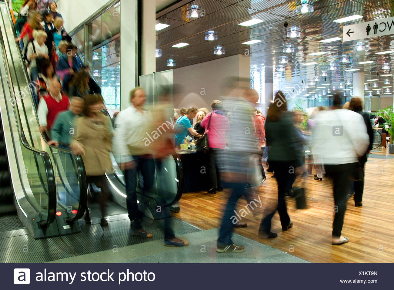 Salzburg, Austria, visitors to the Angel Congress - Stock Image