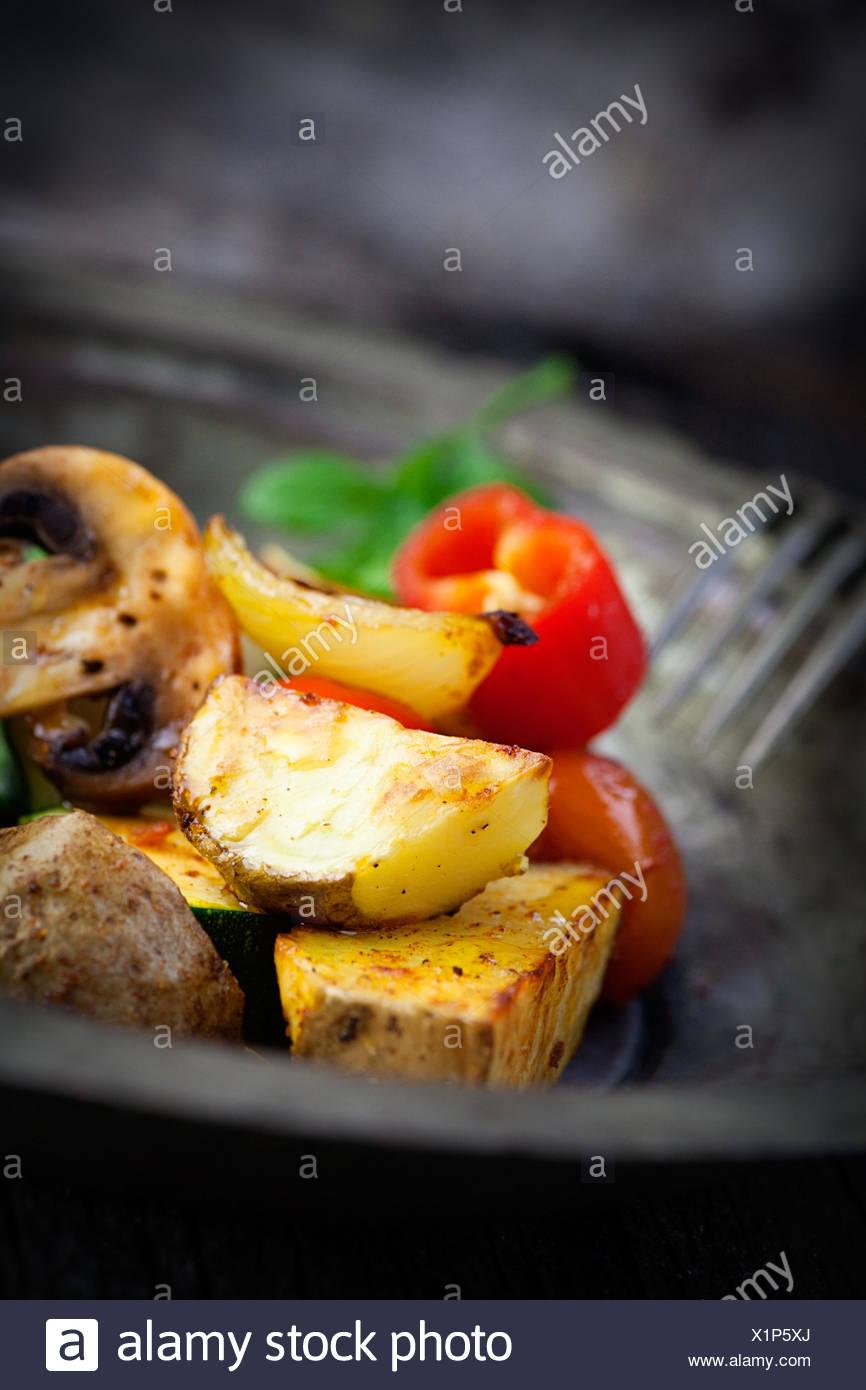 restaurant food aliment - Stock Image