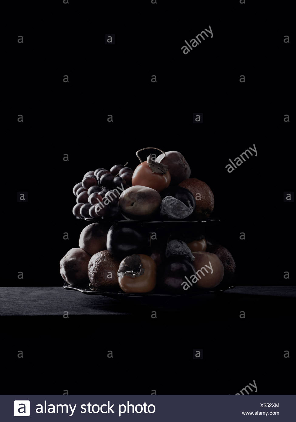 Decayed fruit - Stock Image