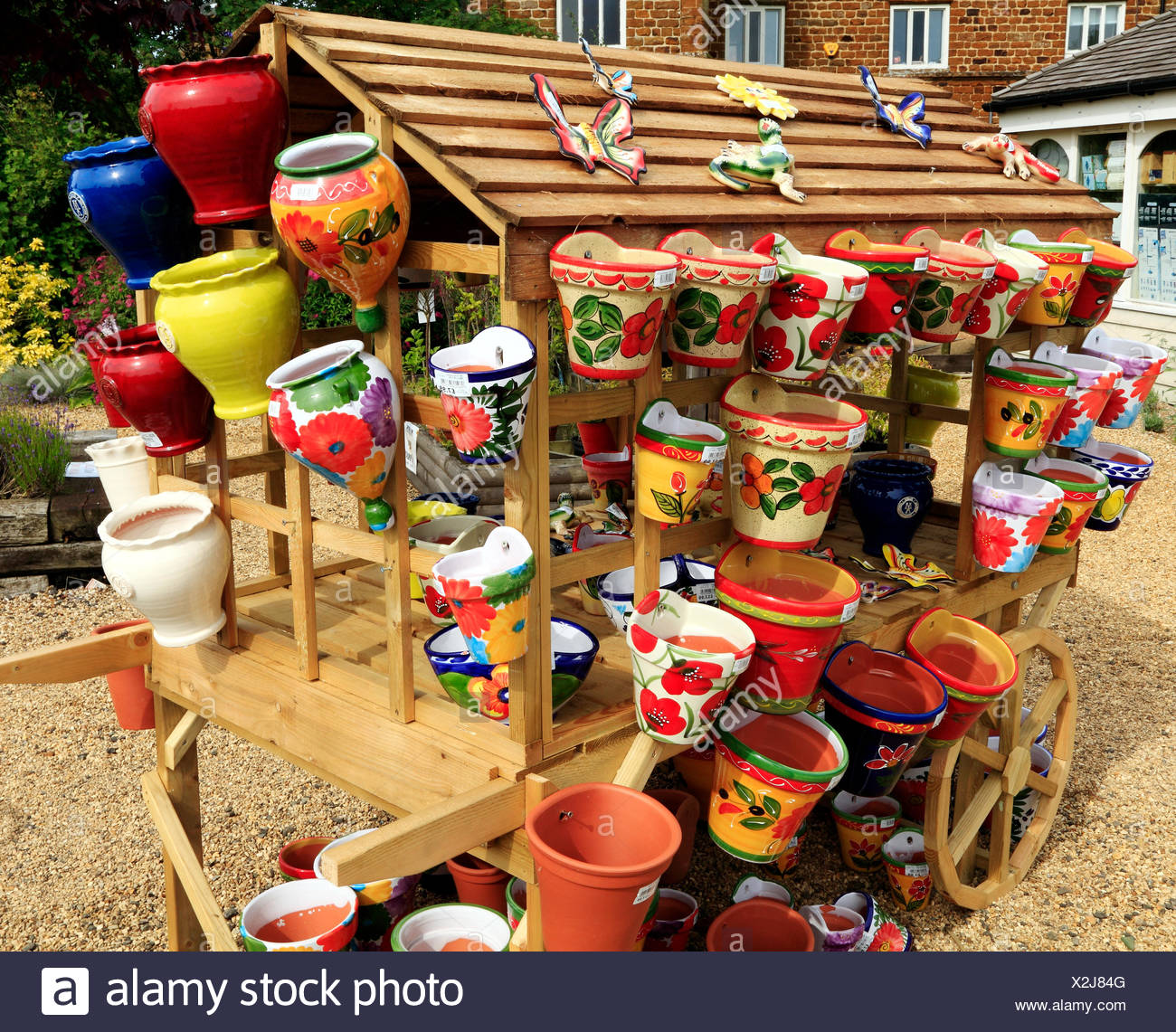 Colourful, Colorful, Decorative, Pots, Planters, Containers, Garden Nursery  Sales England