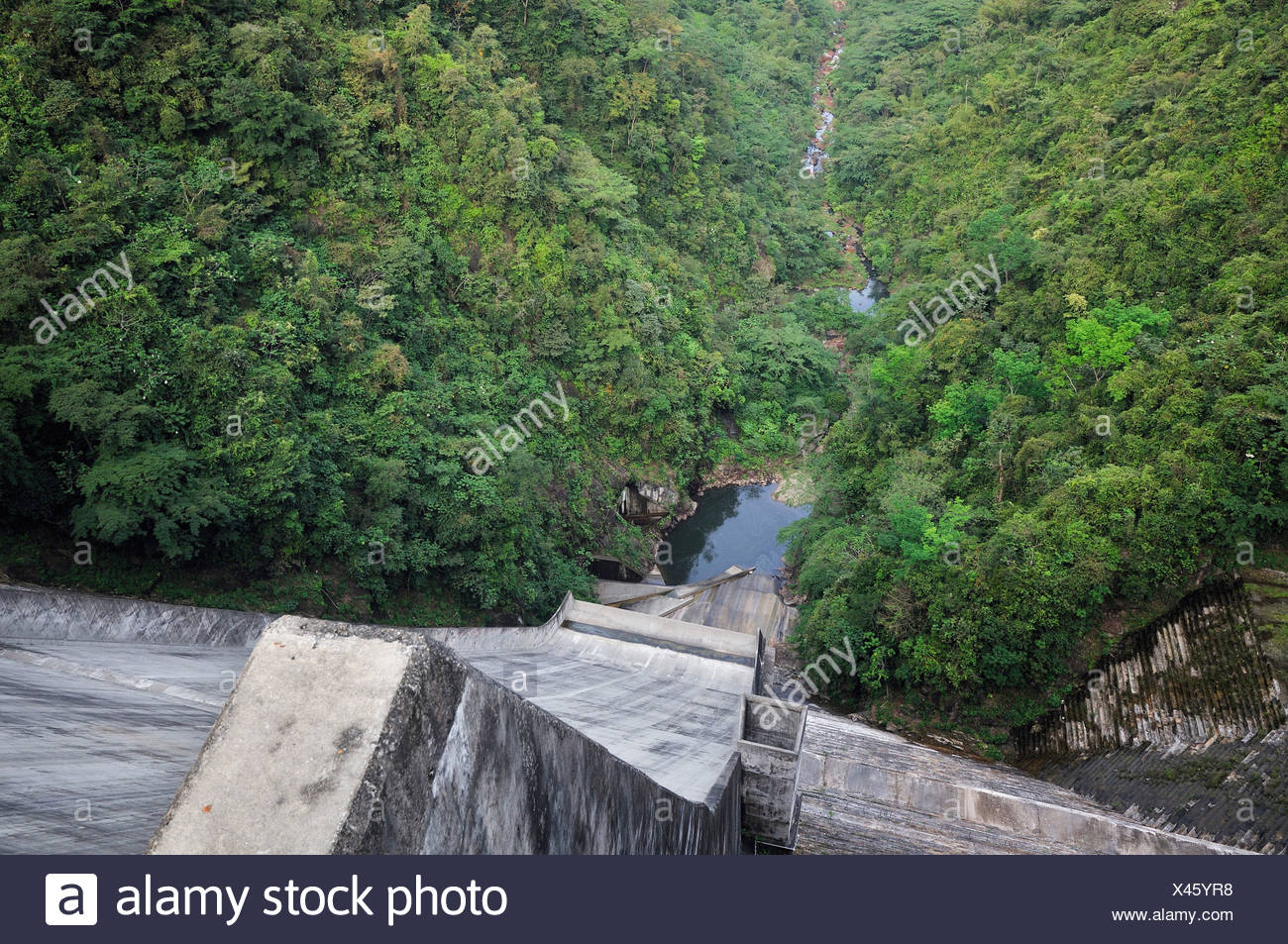 Hydroelectric Power Plants In South America Not Lossing Wiring Diagram View From The Dam Of La Miel Plant Caldas Rh Alamy Com Nuclear