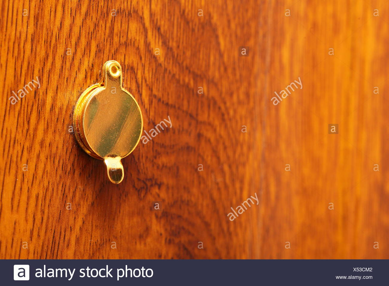 spy hole or peephole view at door - Stock Image & Peephole Door Stock Photos \u0026 Peephole Door Stock Images - Alamy
