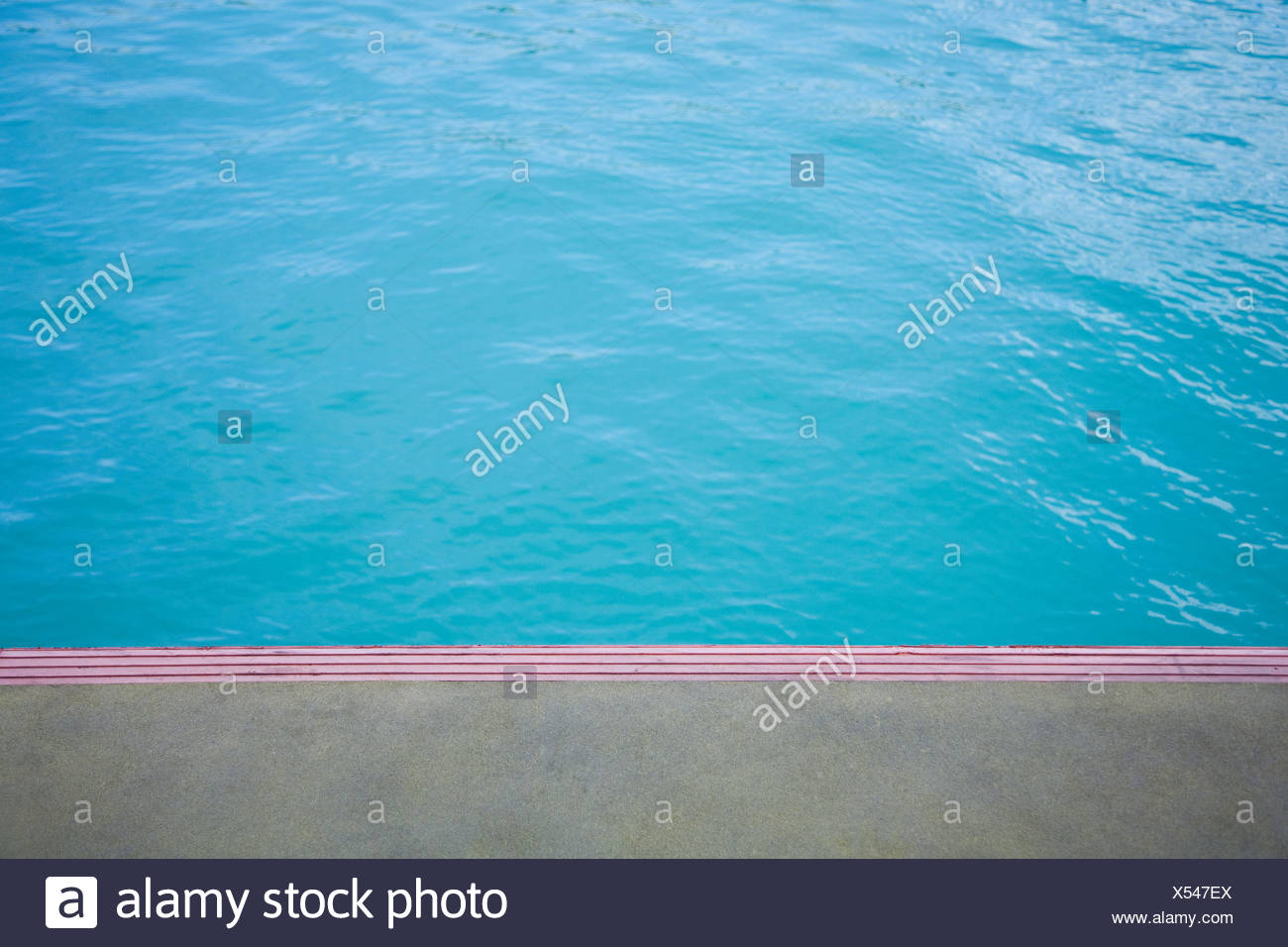 Blue water, abstract - Stock Image