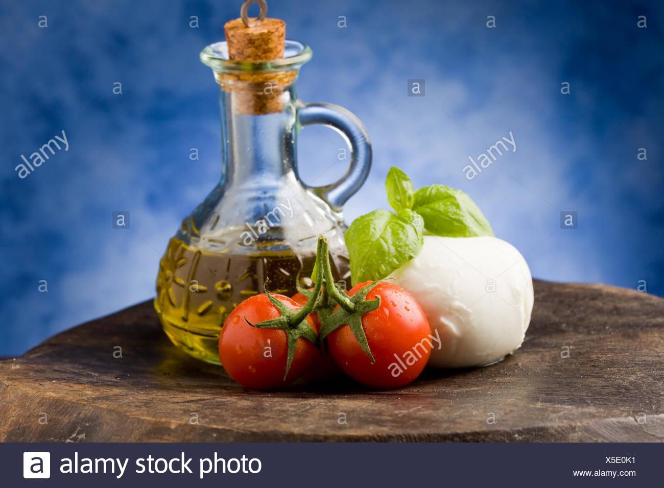 Tomato Mozzarella - Stock Image