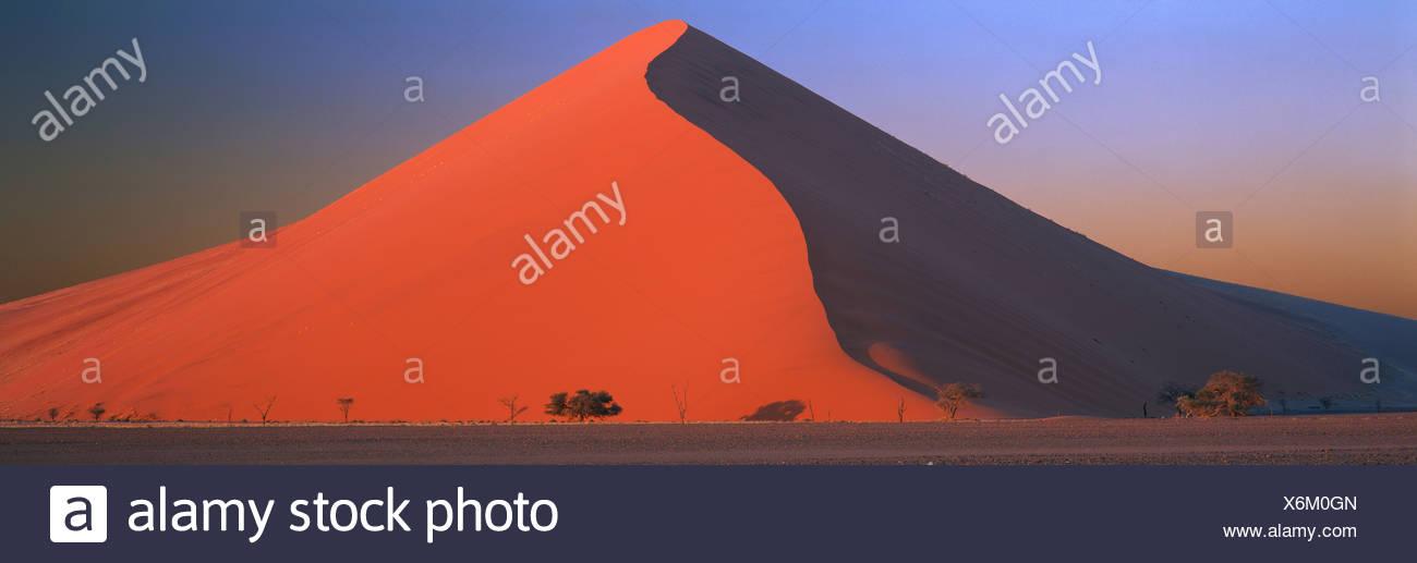 Great Dune, Namib-Naukluft Park, Namibia - Stock Image