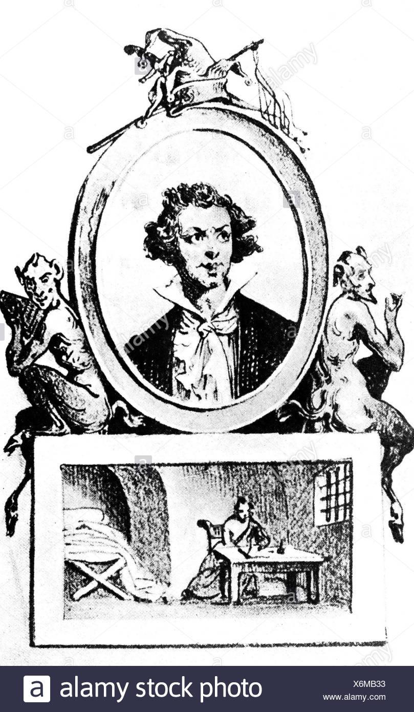 marquis de sade portrait stock photos marquis de sade. Black Bedroom Furniture Sets. Home Design Ideas
