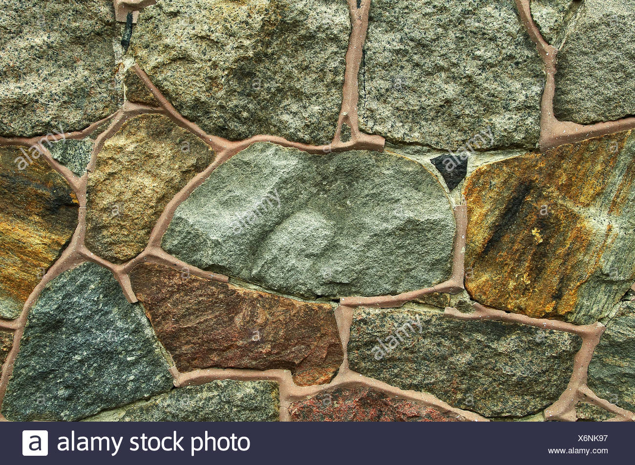 feldsteinmauer / fieldstone wall stock photo: 279529971 - alamy