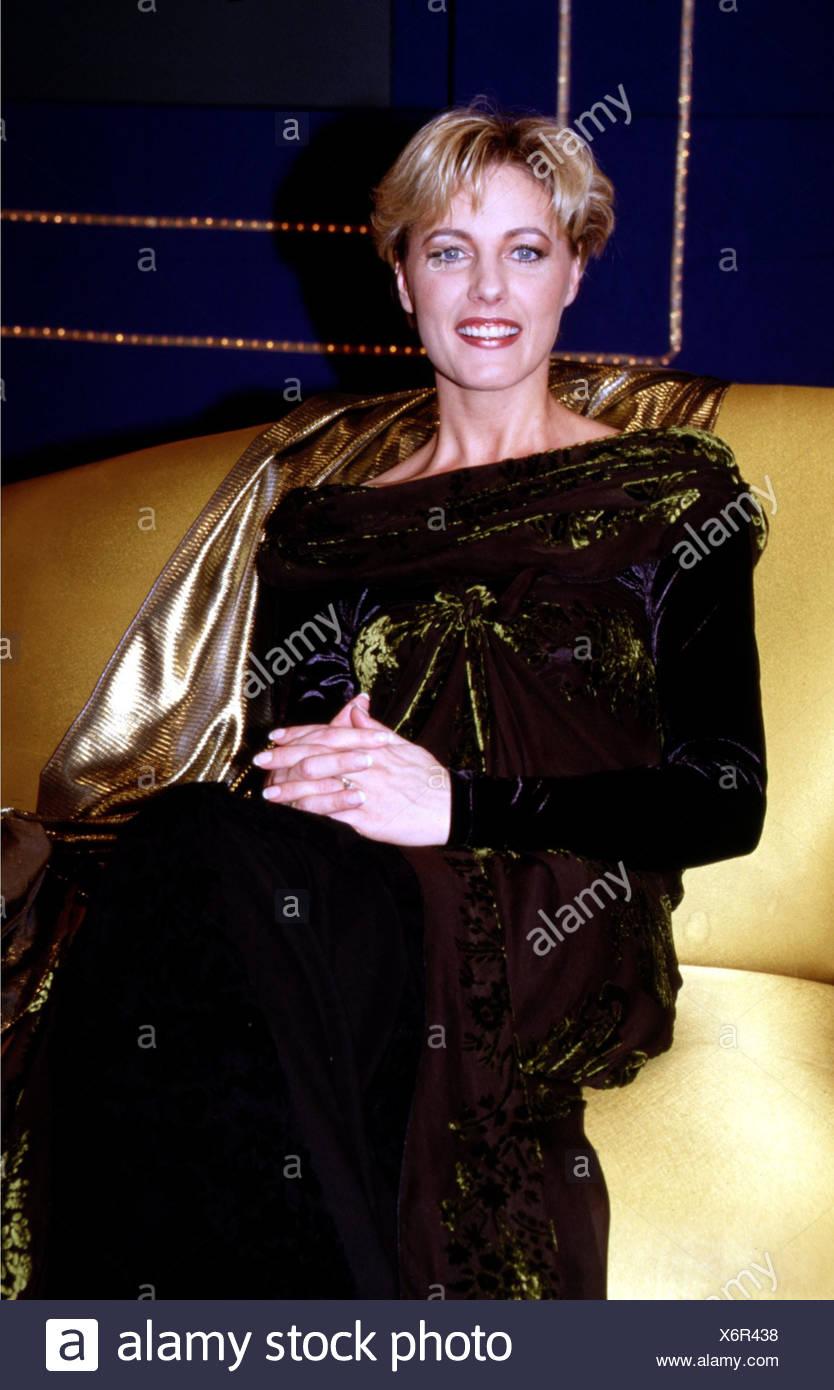 Winner, Dana, * 10.2.1965, Belgian singer, half length, 1998, - Stock Image