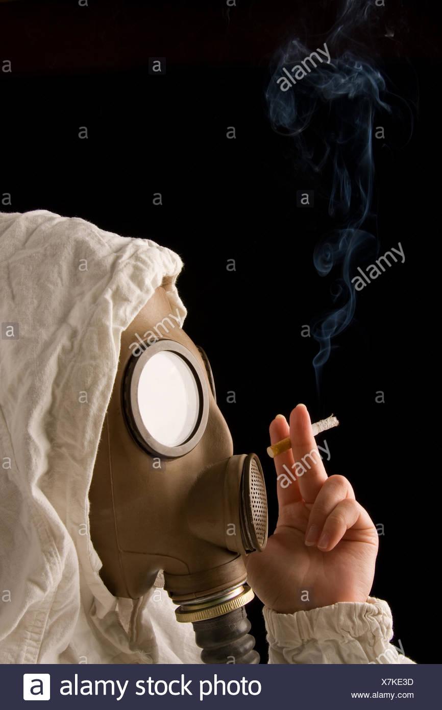 Mature mask cigarette