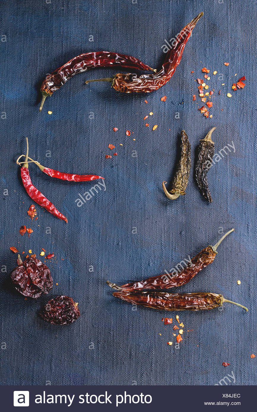 Dried Chilly Peppers Stock Photos & Dried Chilly Peppers Stock ...