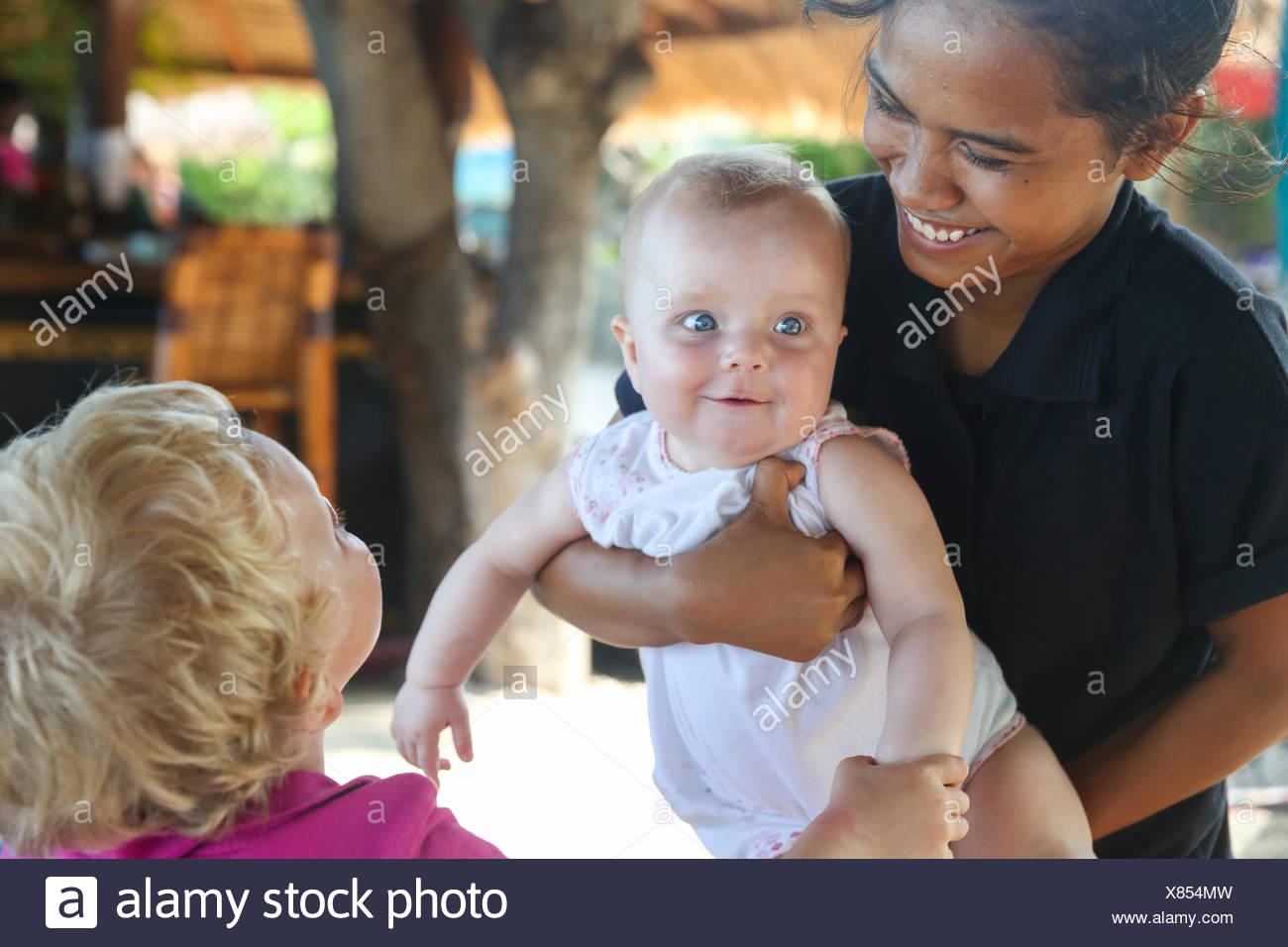 Meeting local girls