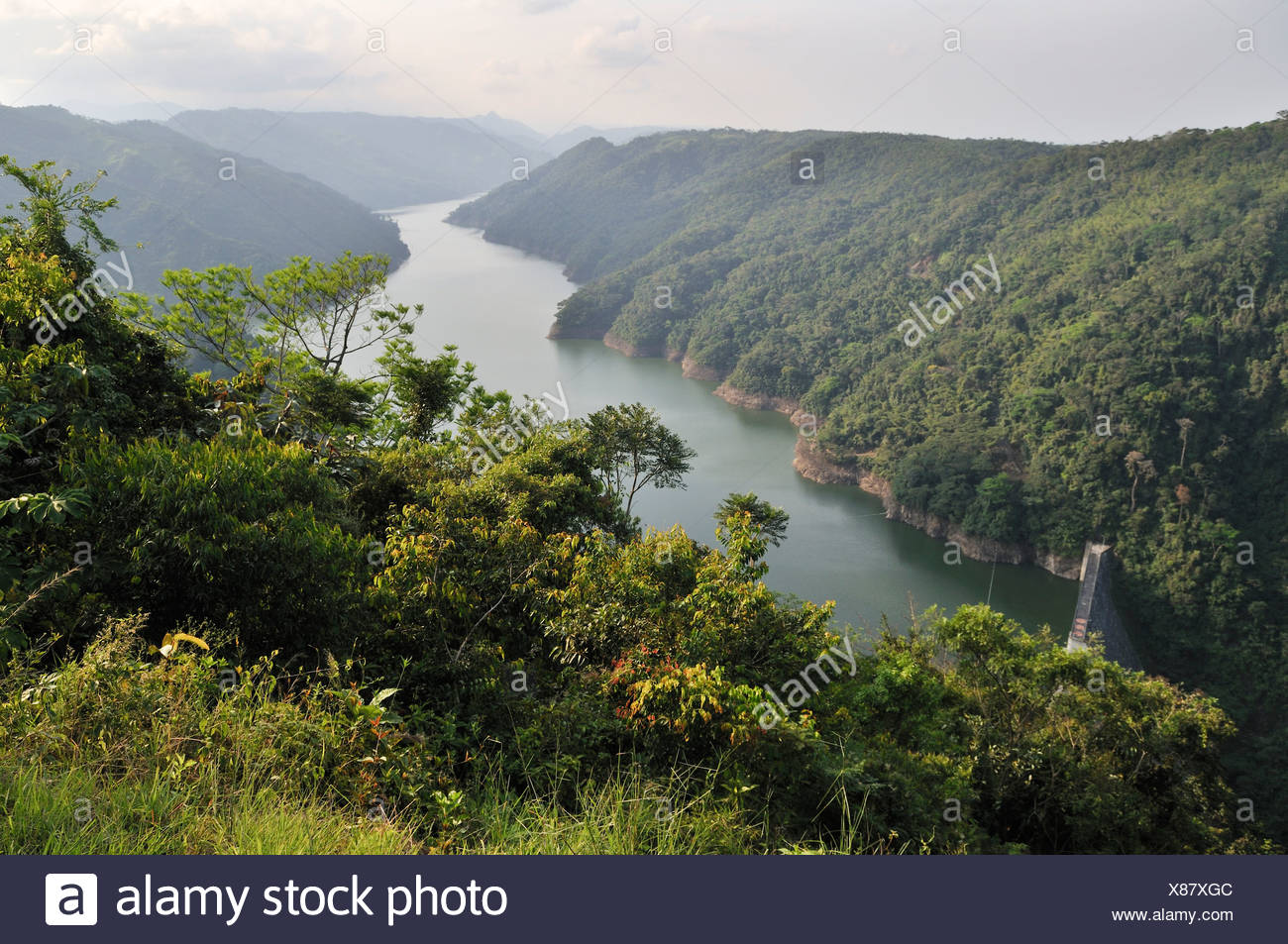 Hydroelectric Power Plants In South America Not Lossing Wiring Diagram Reservoir Of The La Miel Plant Caldas Colombia Rh Alamy Com Dam Solar