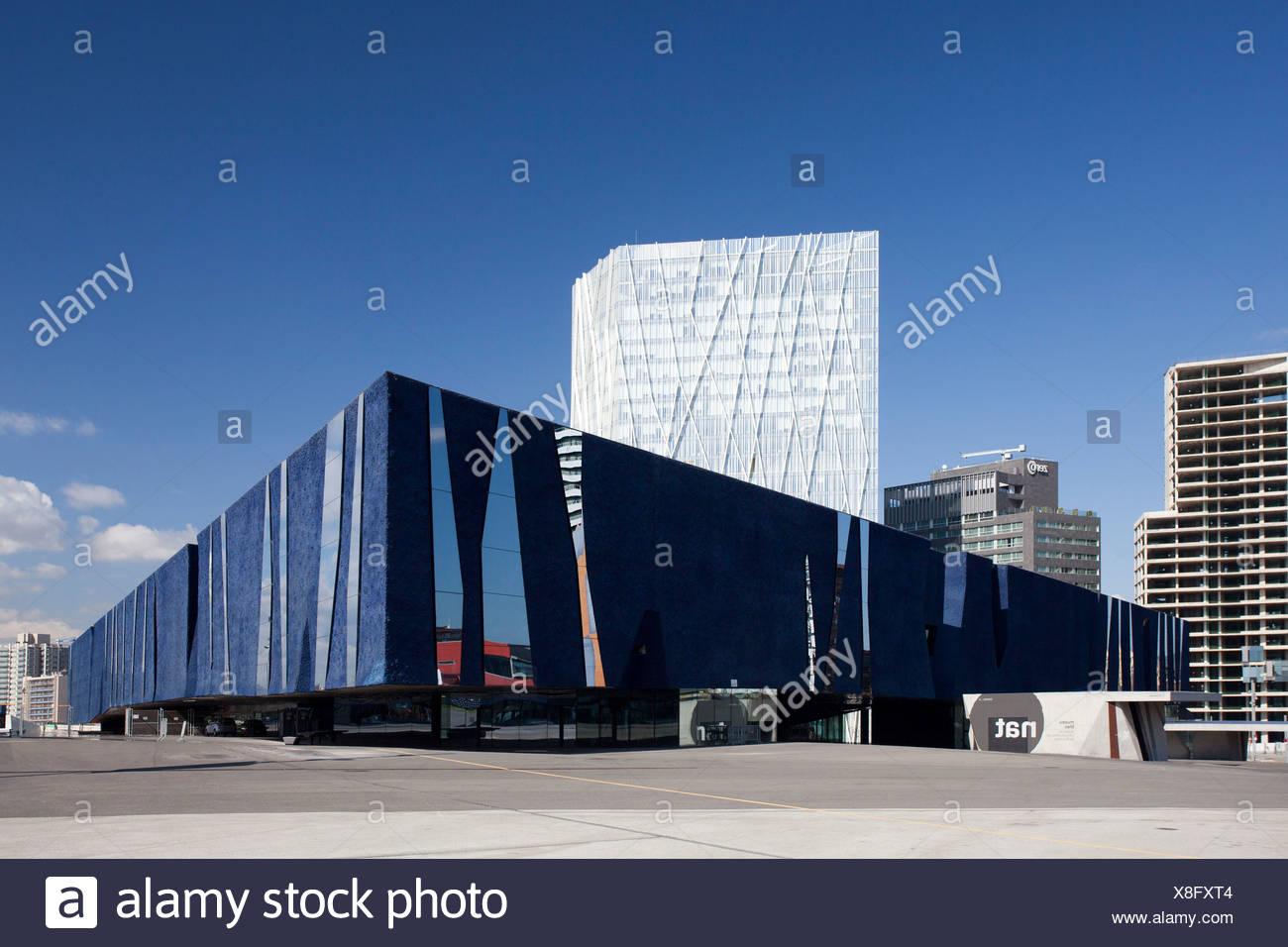 Spain, Europe, Catalunya, Barcelona, Diagonal Mar, Forum, - Stock Image