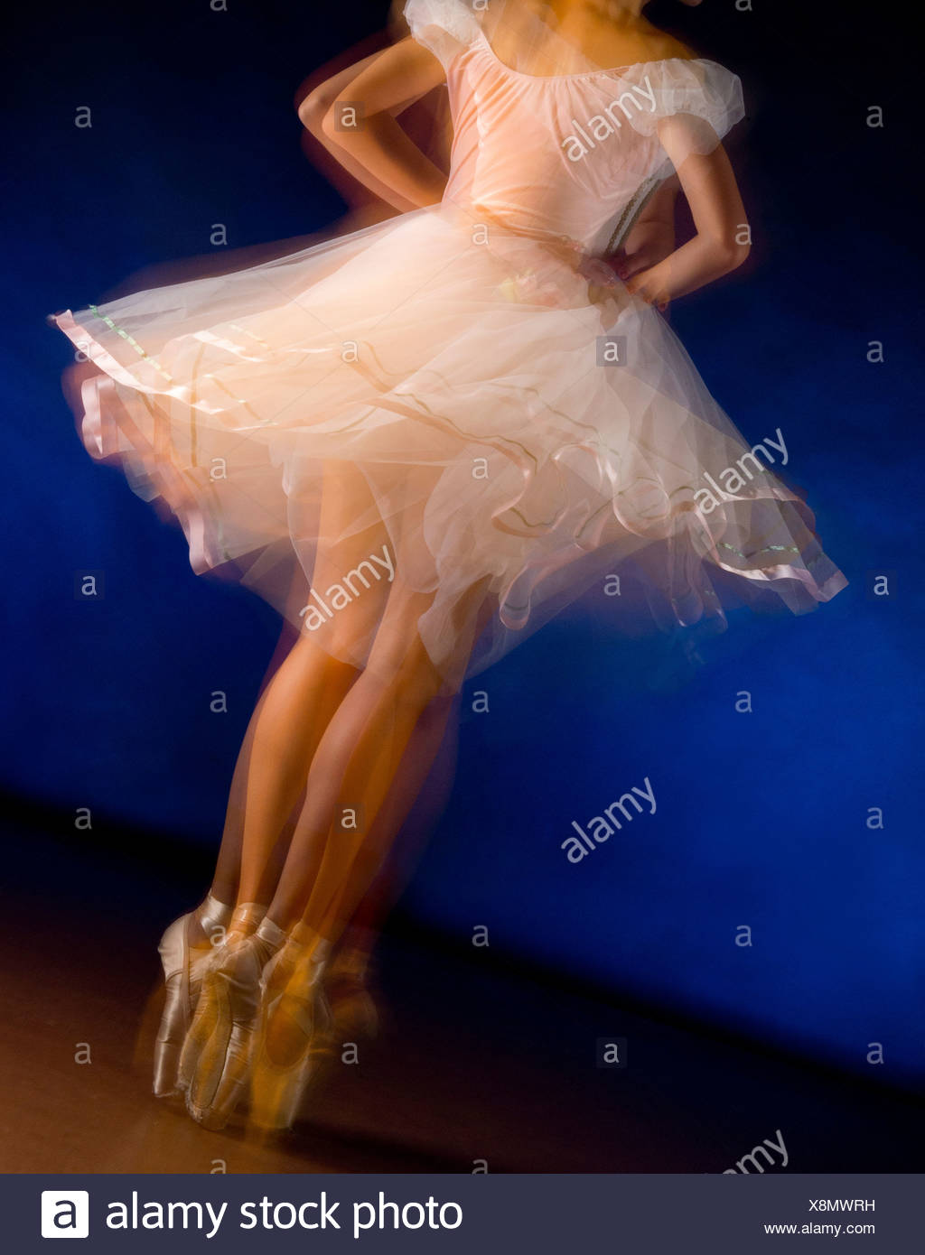 Ballerina in motion - Stock Image
