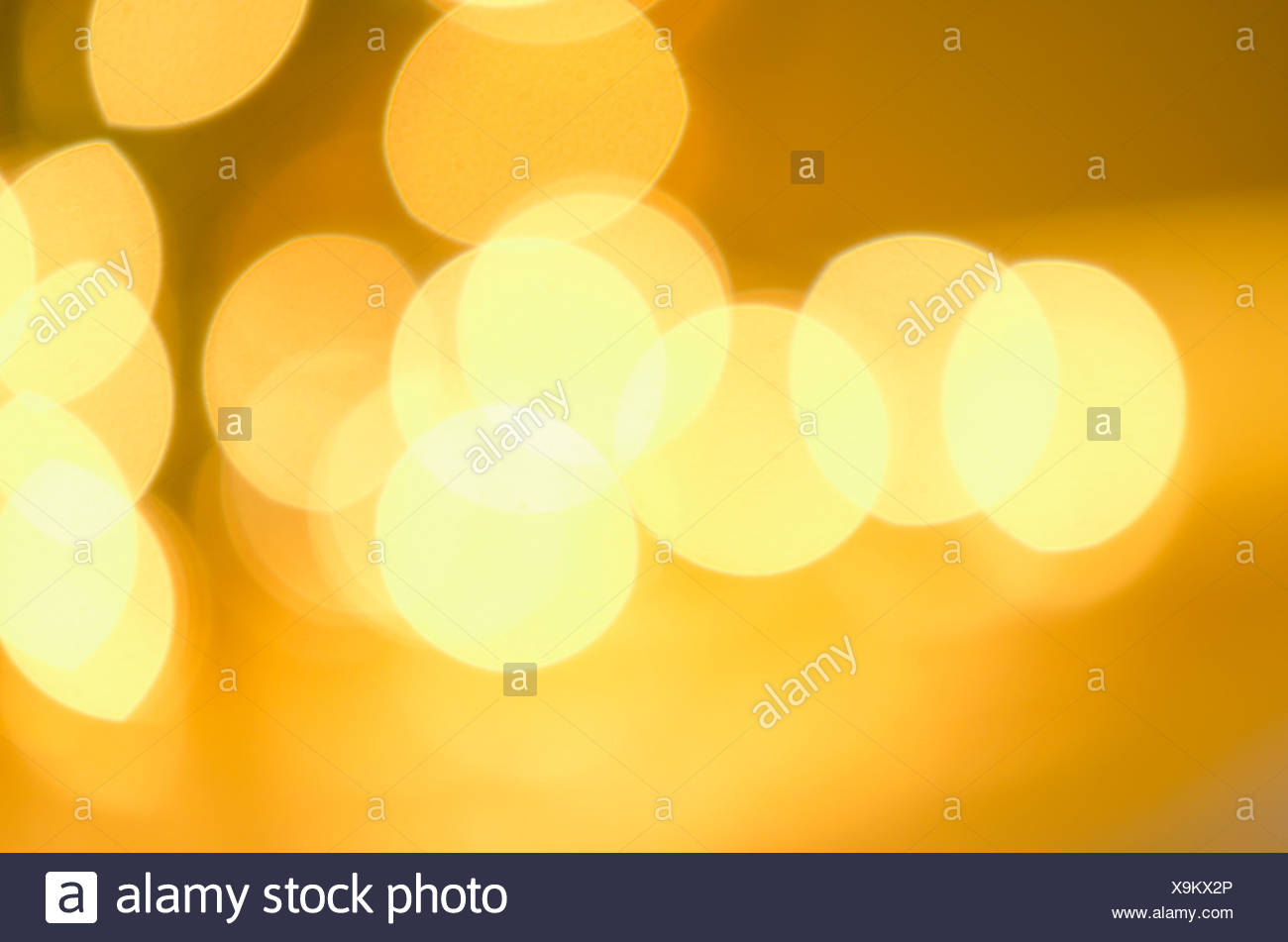 Glowing background, studio shot - Stock Image