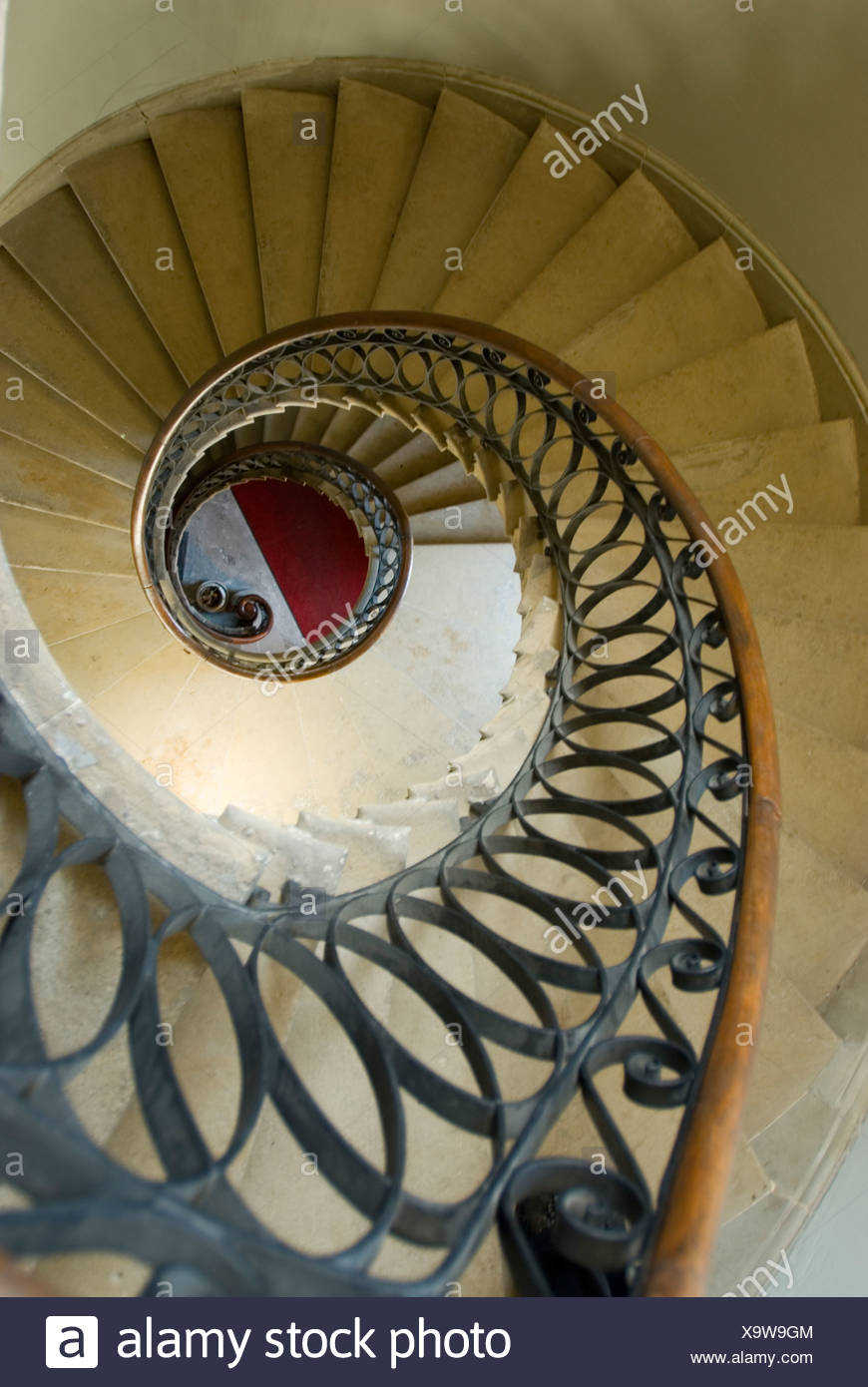 Overview Of Floating Spiral Staircase At The Courthouse In Saint John, New  Brunswick