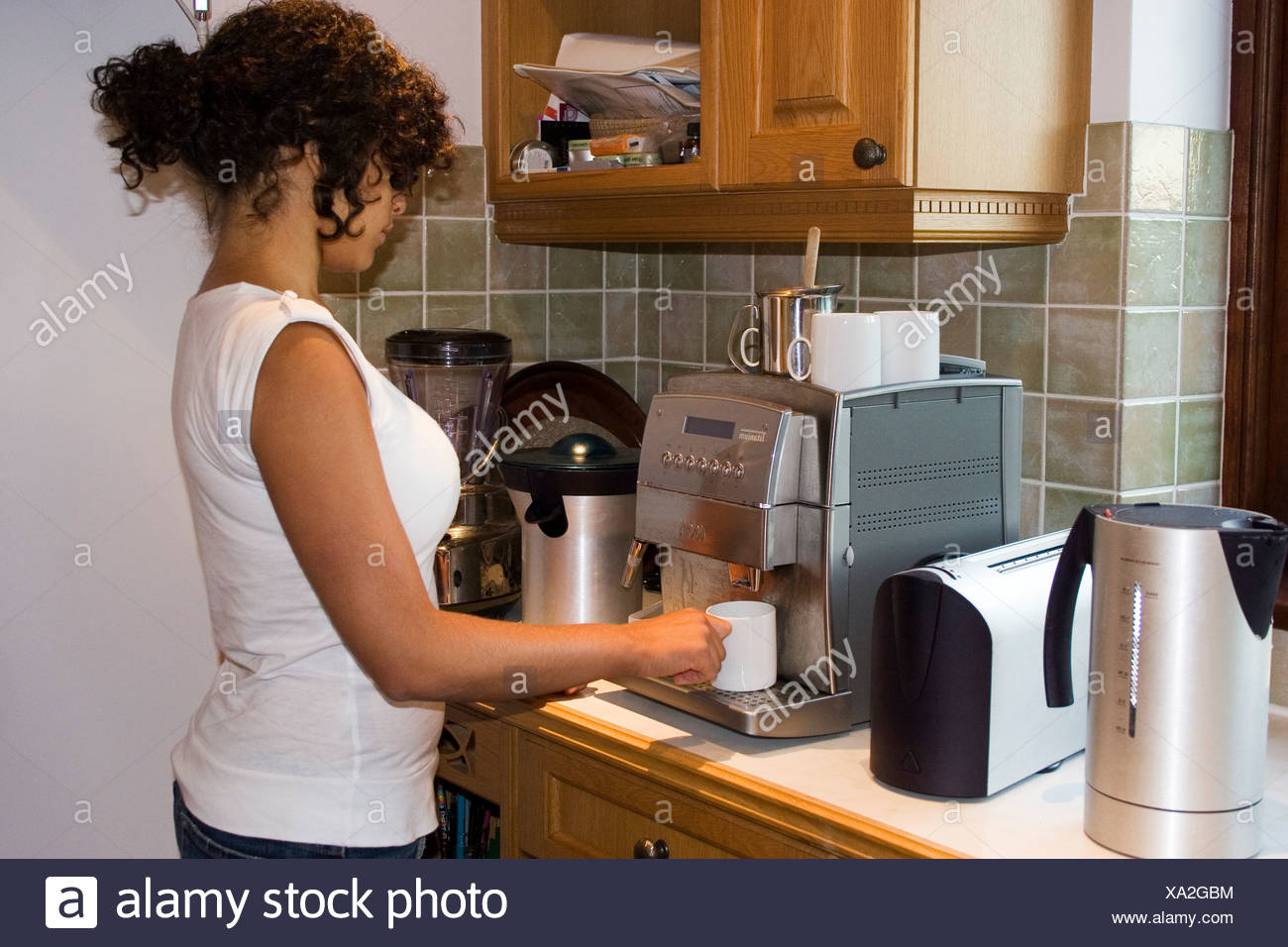 Espresso Recklinghausen electrical devices and appliances stock photos electrical devices