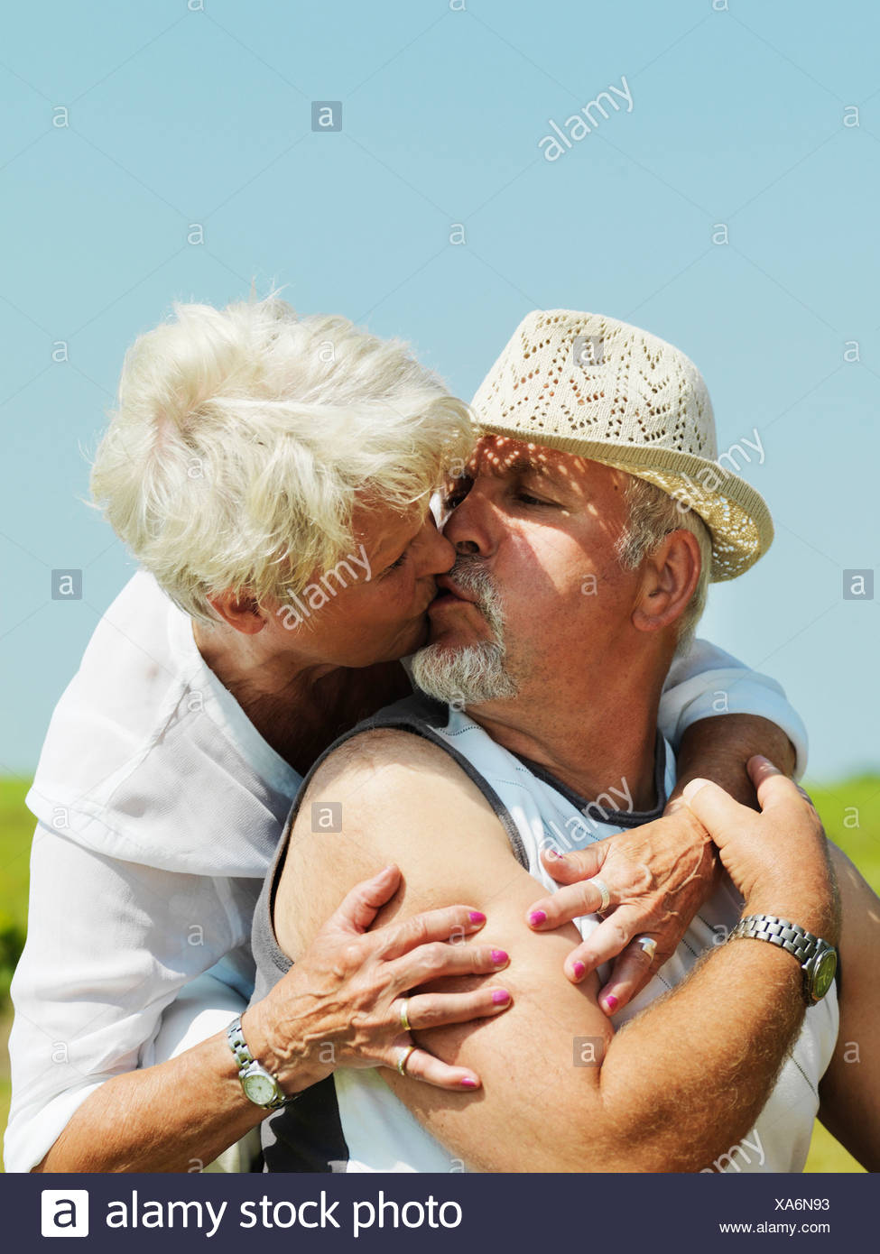 two older middle aged women stock photos & two older middle aged