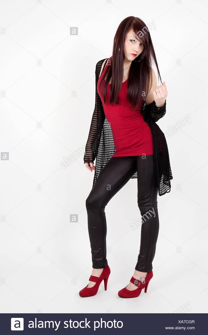 and heels leggings Latex