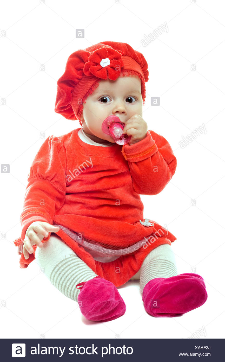 nice baby girl stock photo: 281743830 - alamy