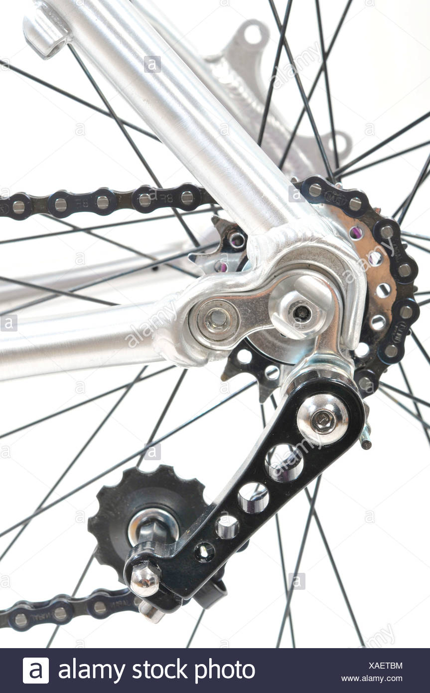 Belt drive bicycle tension