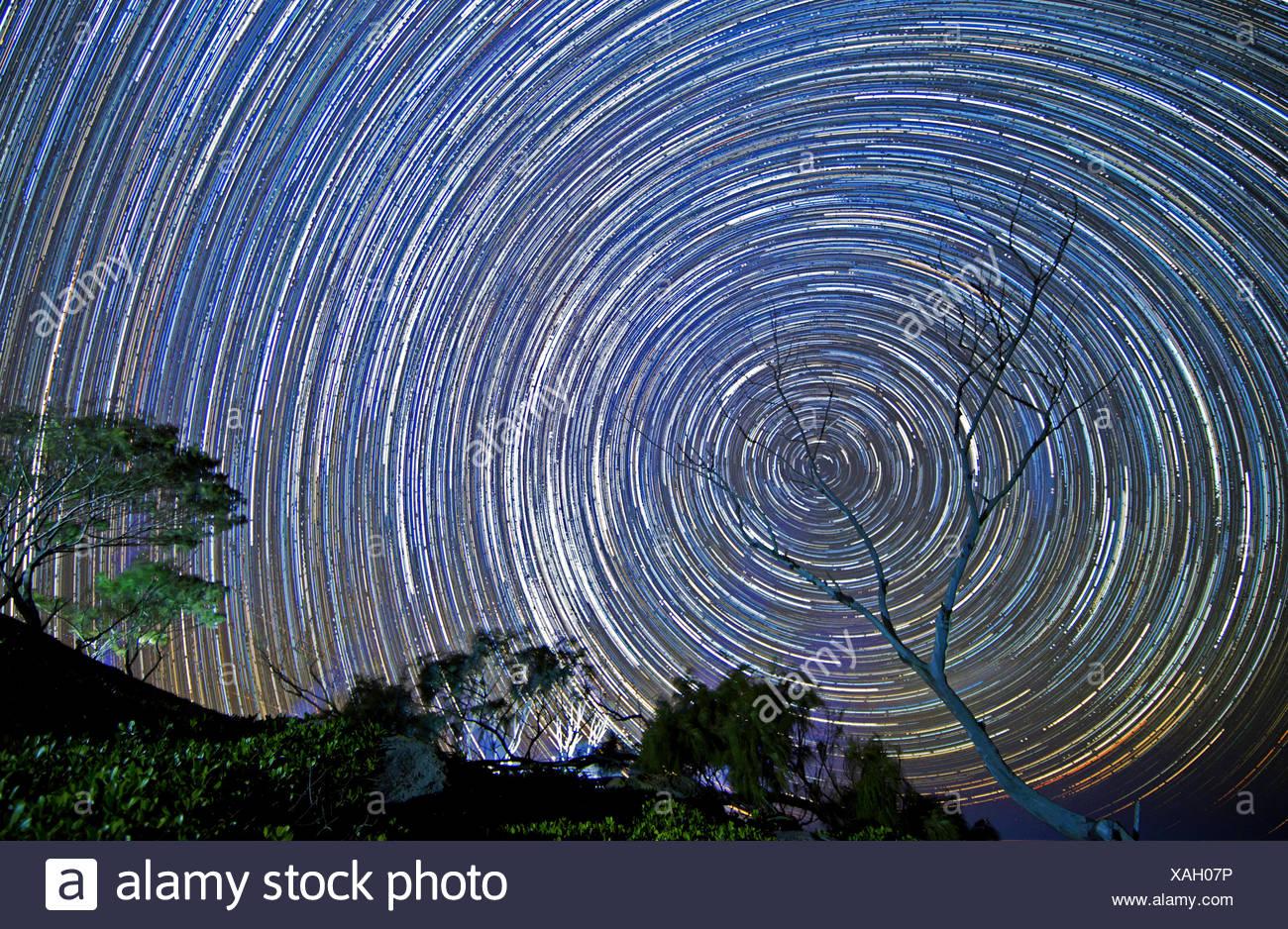 Stars at night - Stock Image