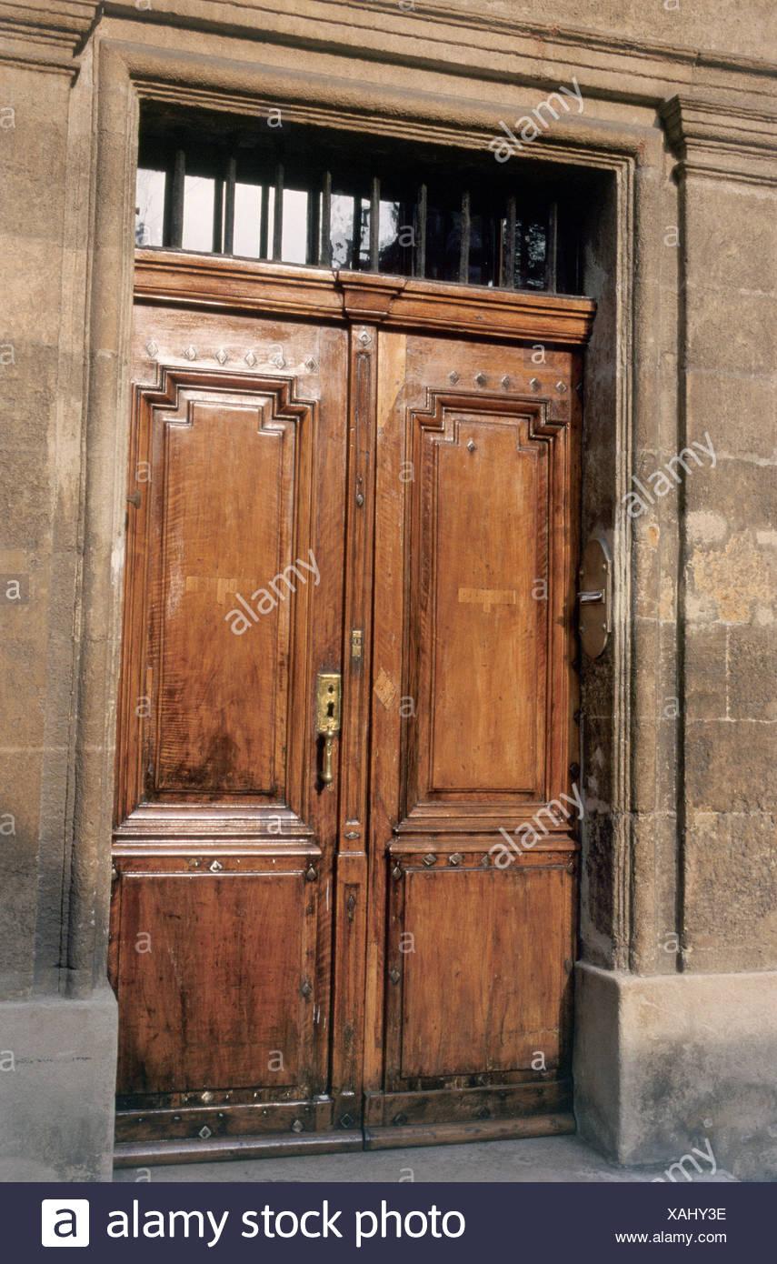 Doorway in Aix-en-Provence - Stock Image