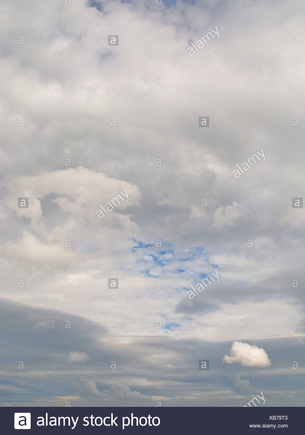 Cloud mass in sky - Stock Image
