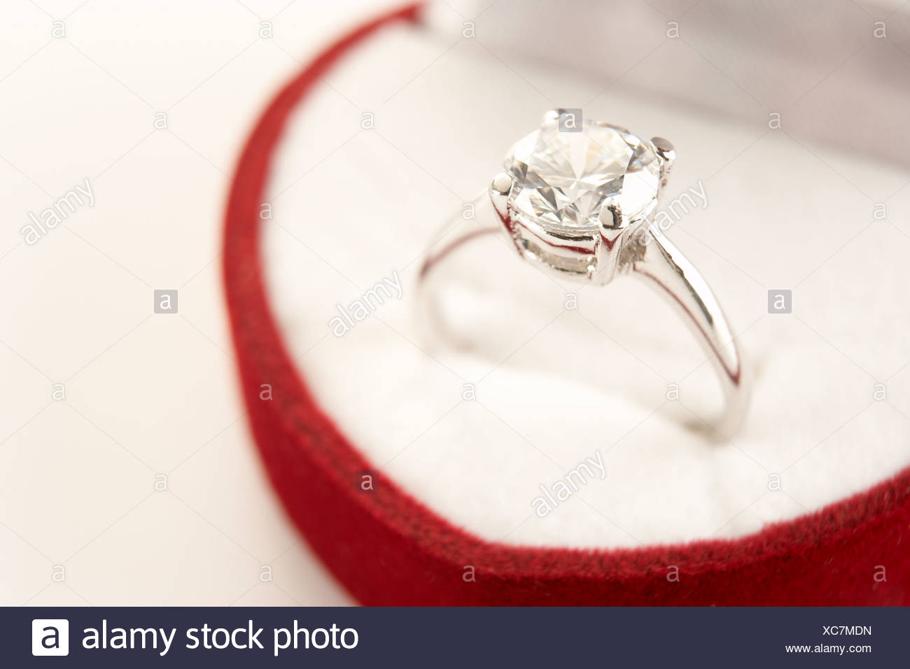 Heart of england stock photos heart of england stock for Heart shaped engagement ring box