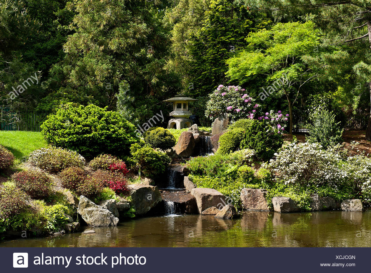 Shofuso Japanese Garden, Fairmount Park, Philadelphia, Pennsylvania, USA