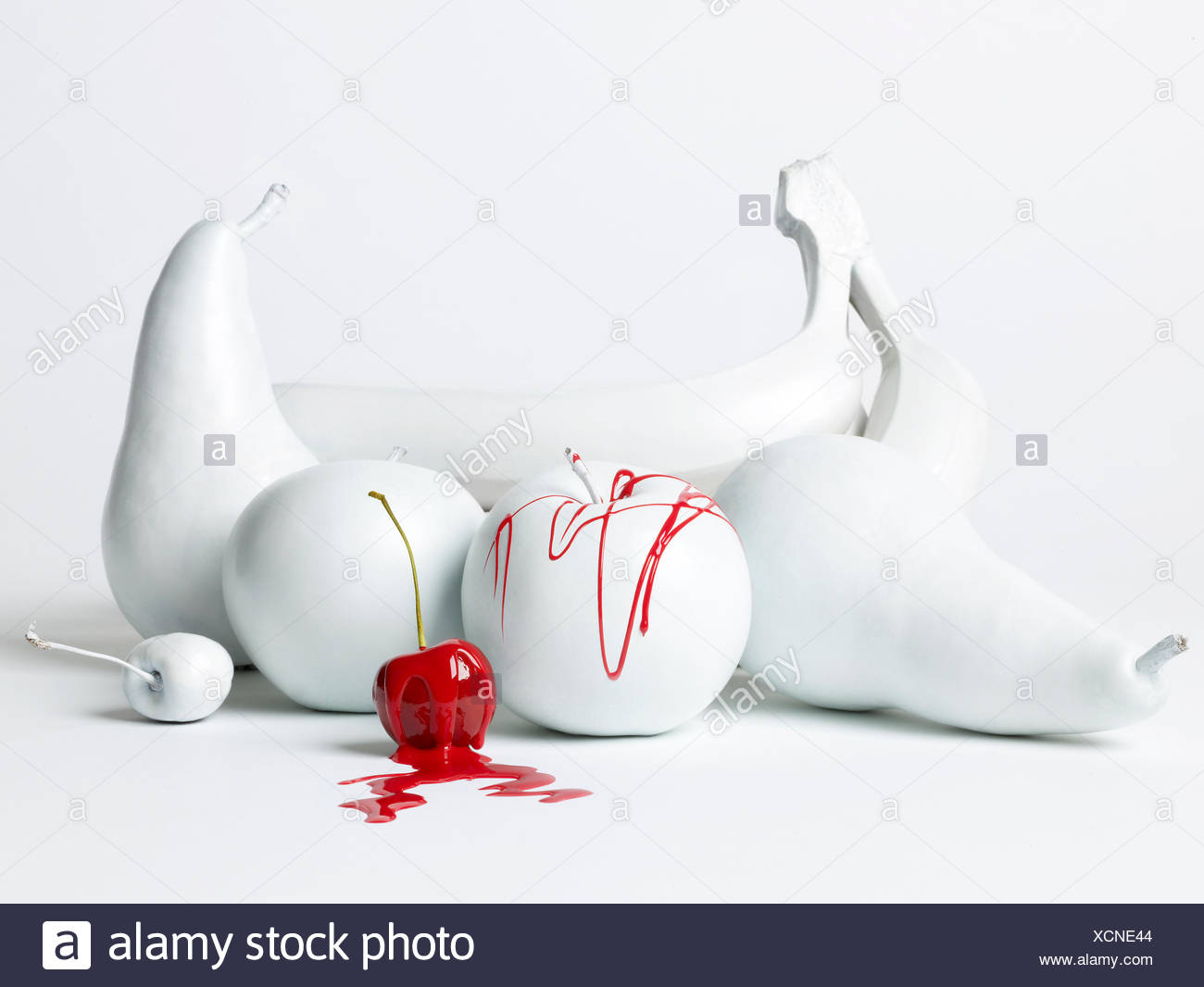 Surreal still life. - Stock Image