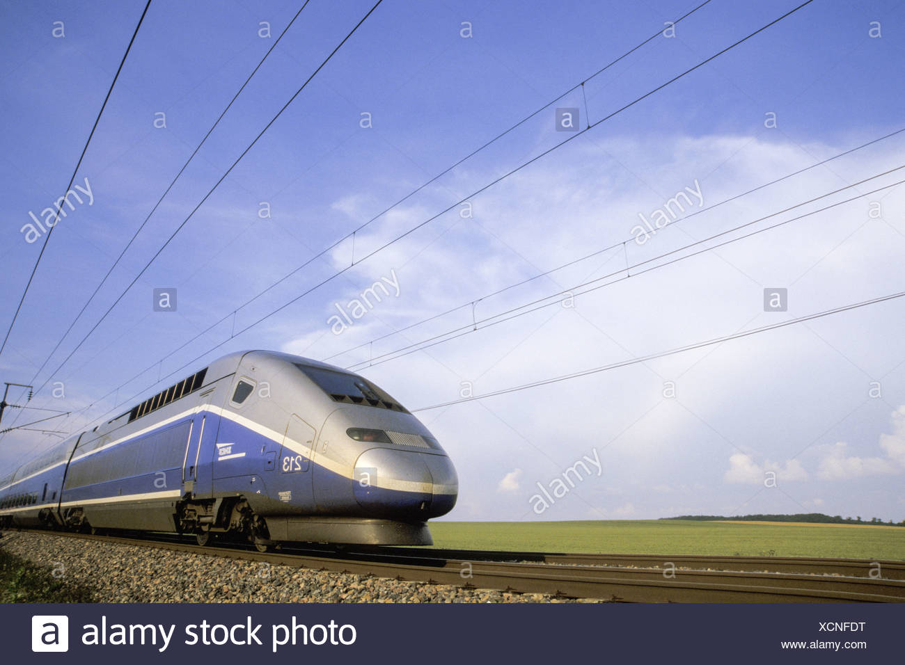 TGV Duplex Paris-Lyon Stock Photo: 283214900 - Alamy