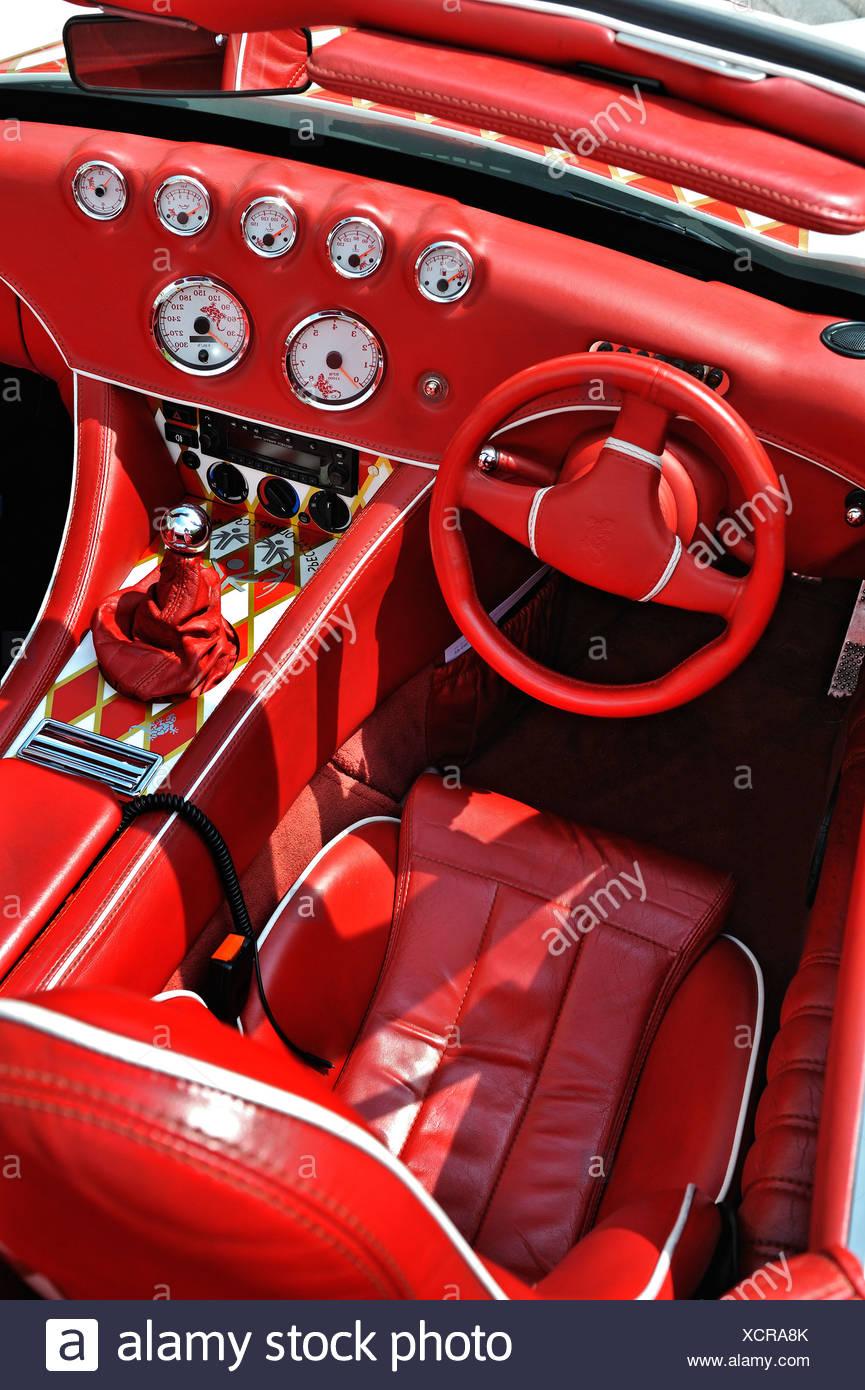 Wiesmann Sports Car Interior Design Dashboard Munich Bavaria