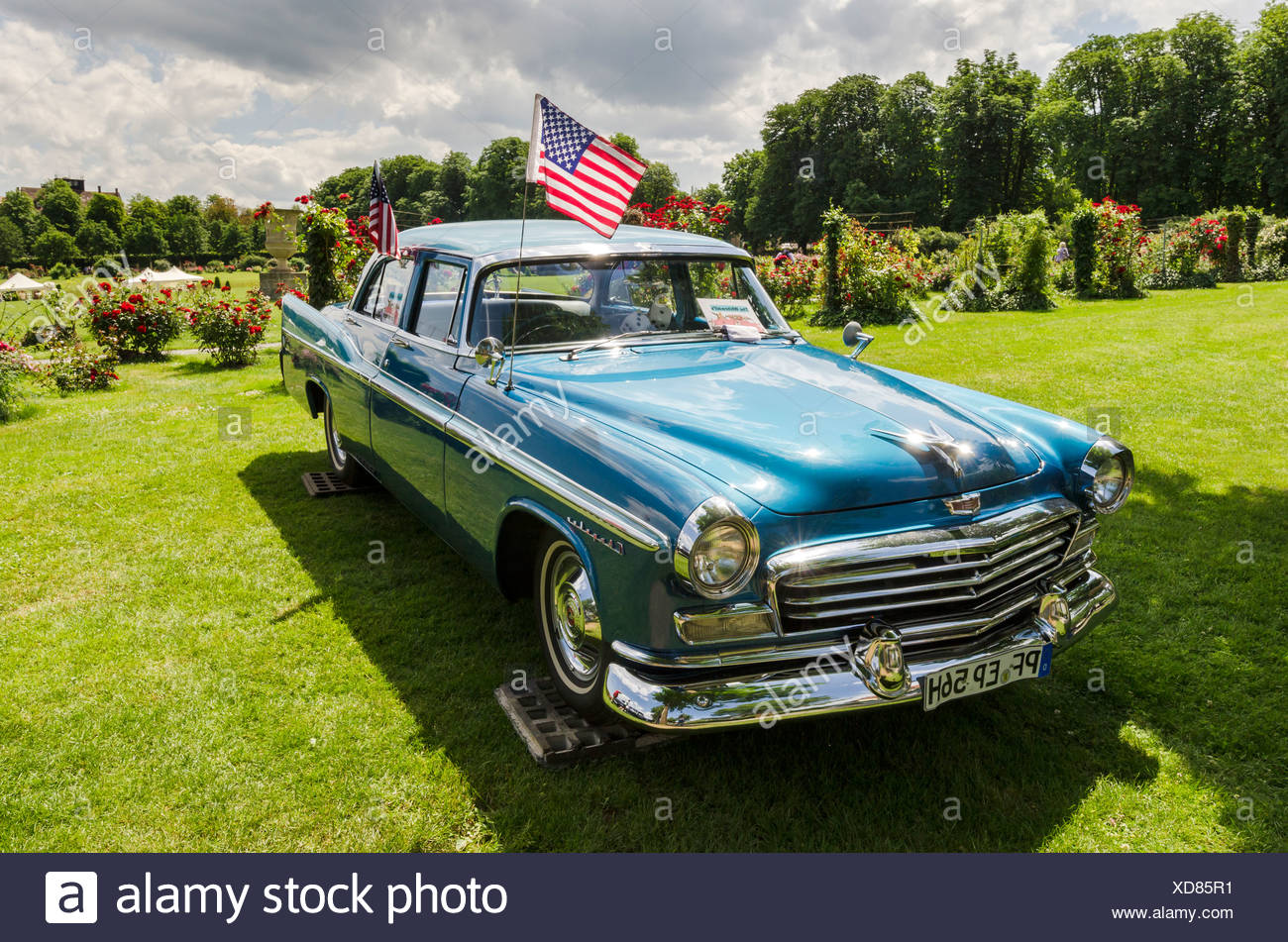 U.S.-American \'56 Chrysler Windsor, festival of classic cars \