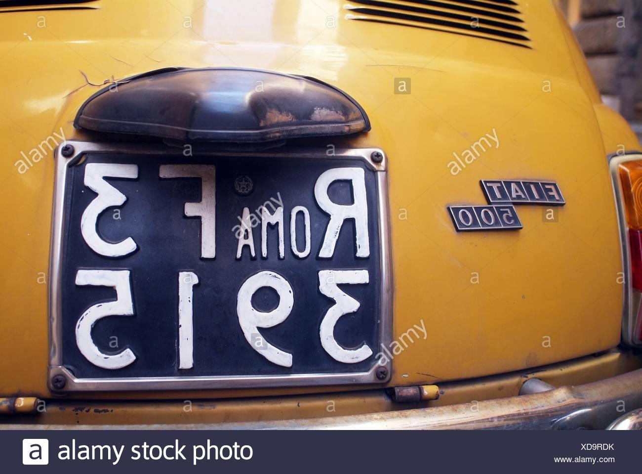 Car Registration Stock Photos & Car Registration Stock Images - Alamy