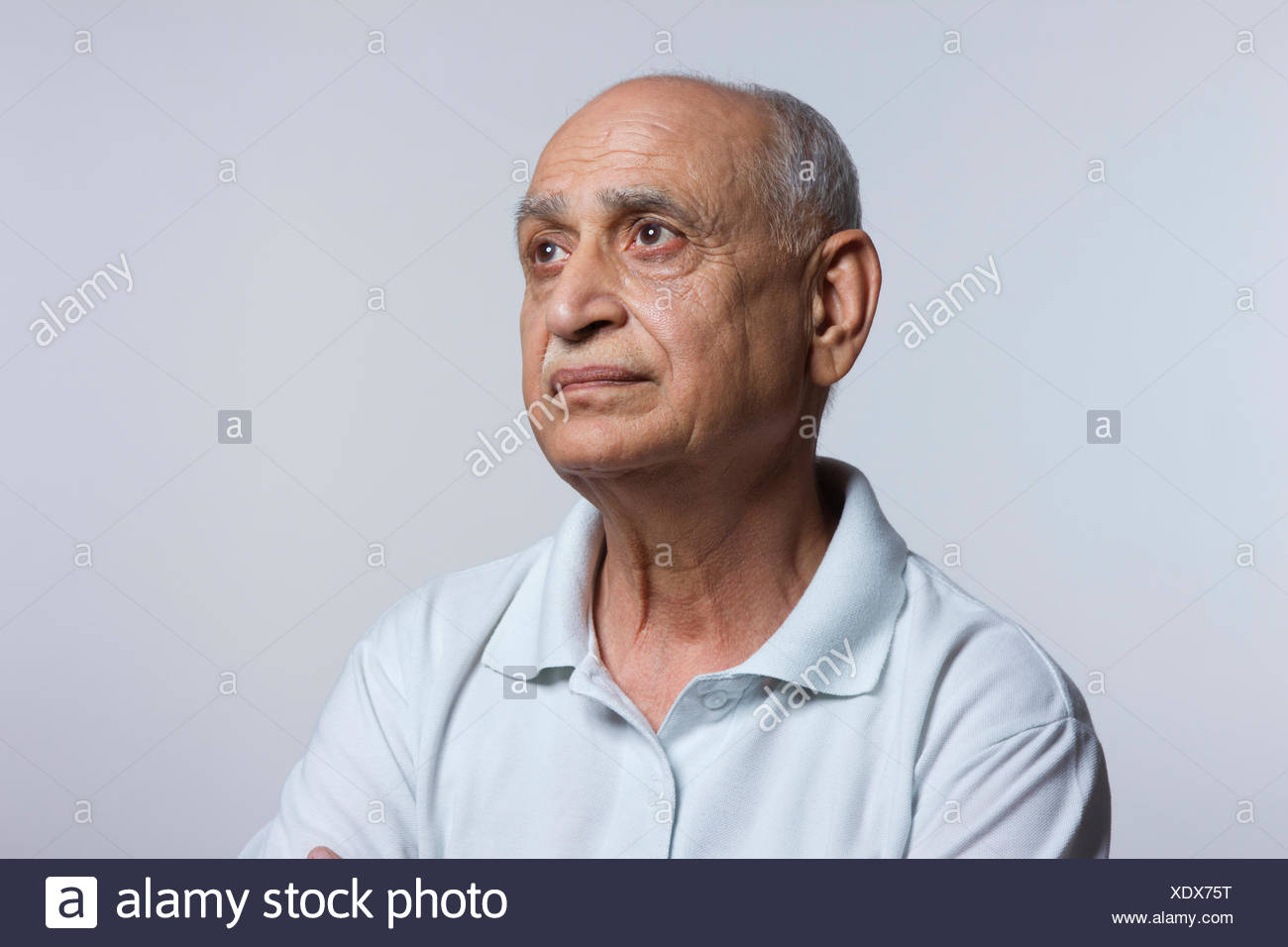 side profile of old man stock photo 283932820 alamy