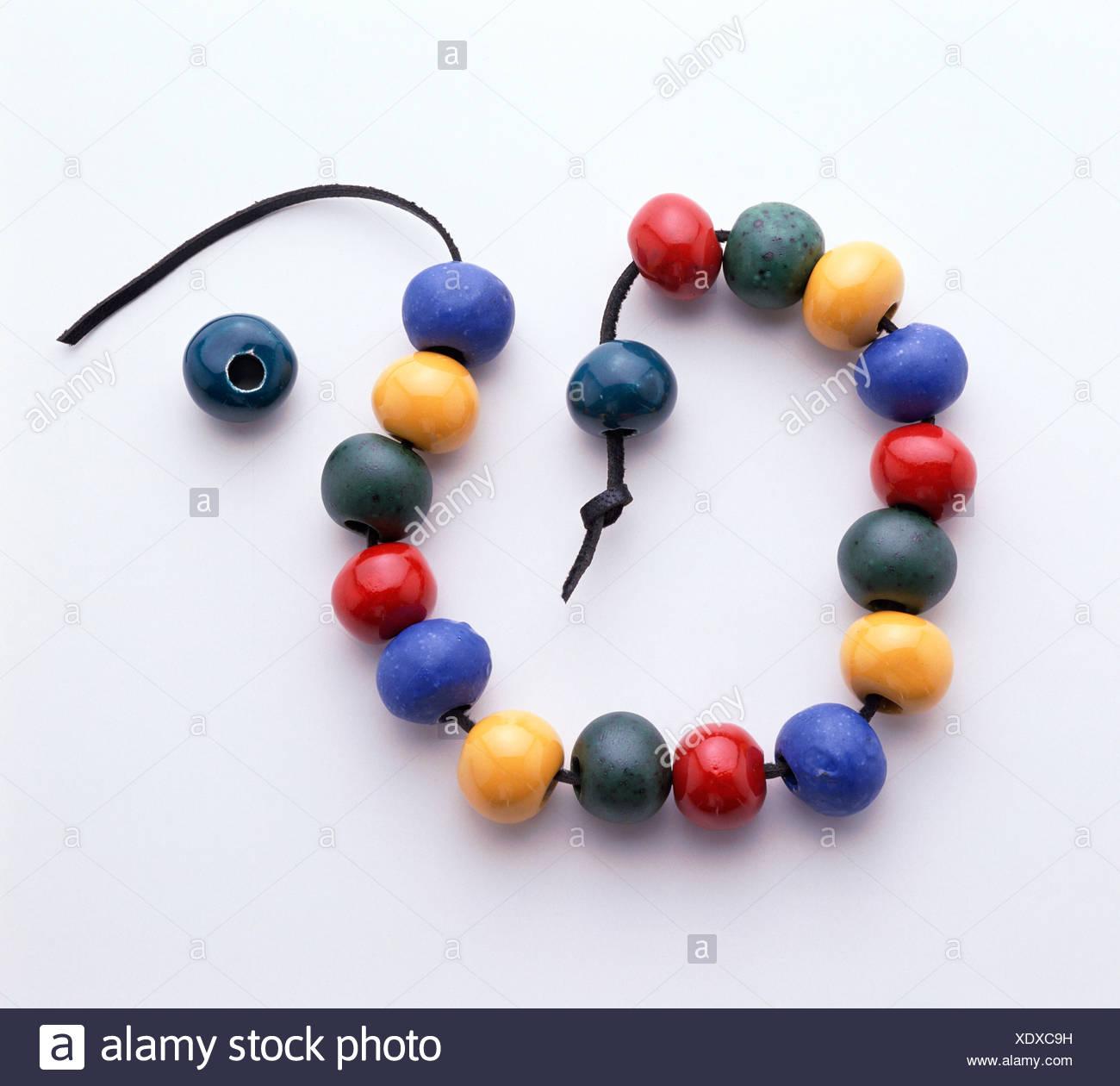 Beads - Stock Image