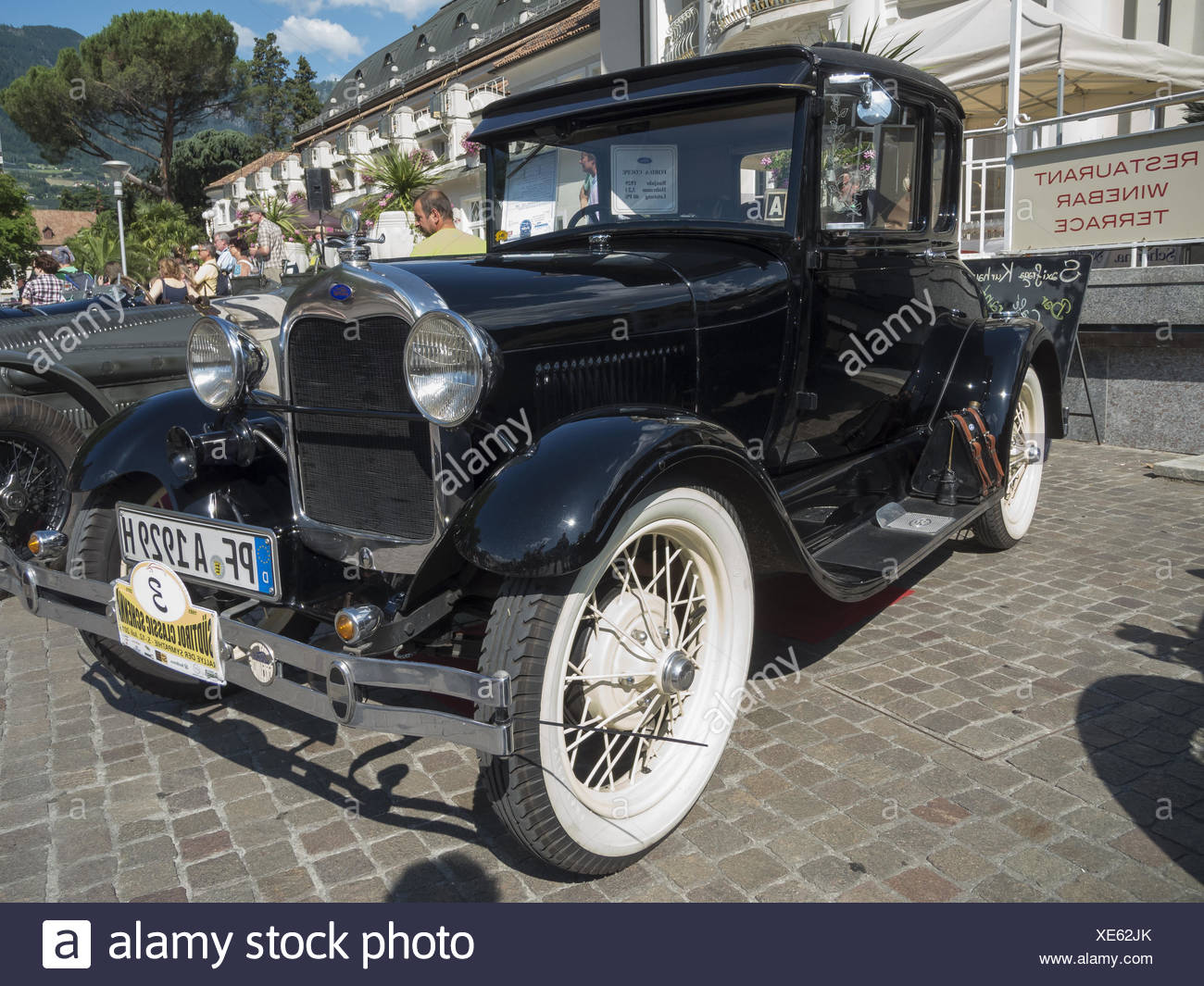 South tyrol classic cars 2015 Ford A Stock Photo: 284104875 - Alamy