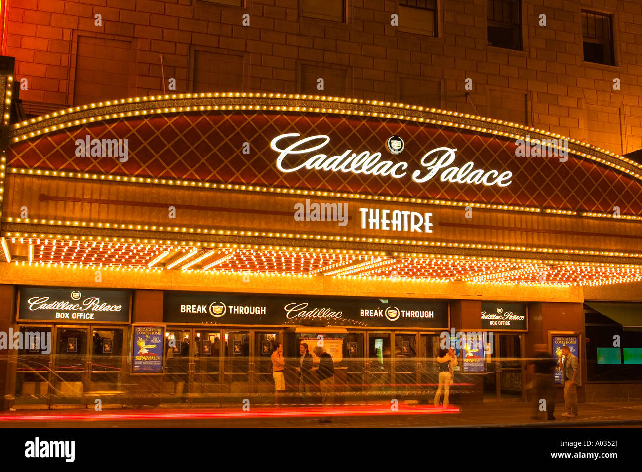 illinois chicago cadillac palace theater on randolph street theater. Cars Review. Best American Auto & Cars Review