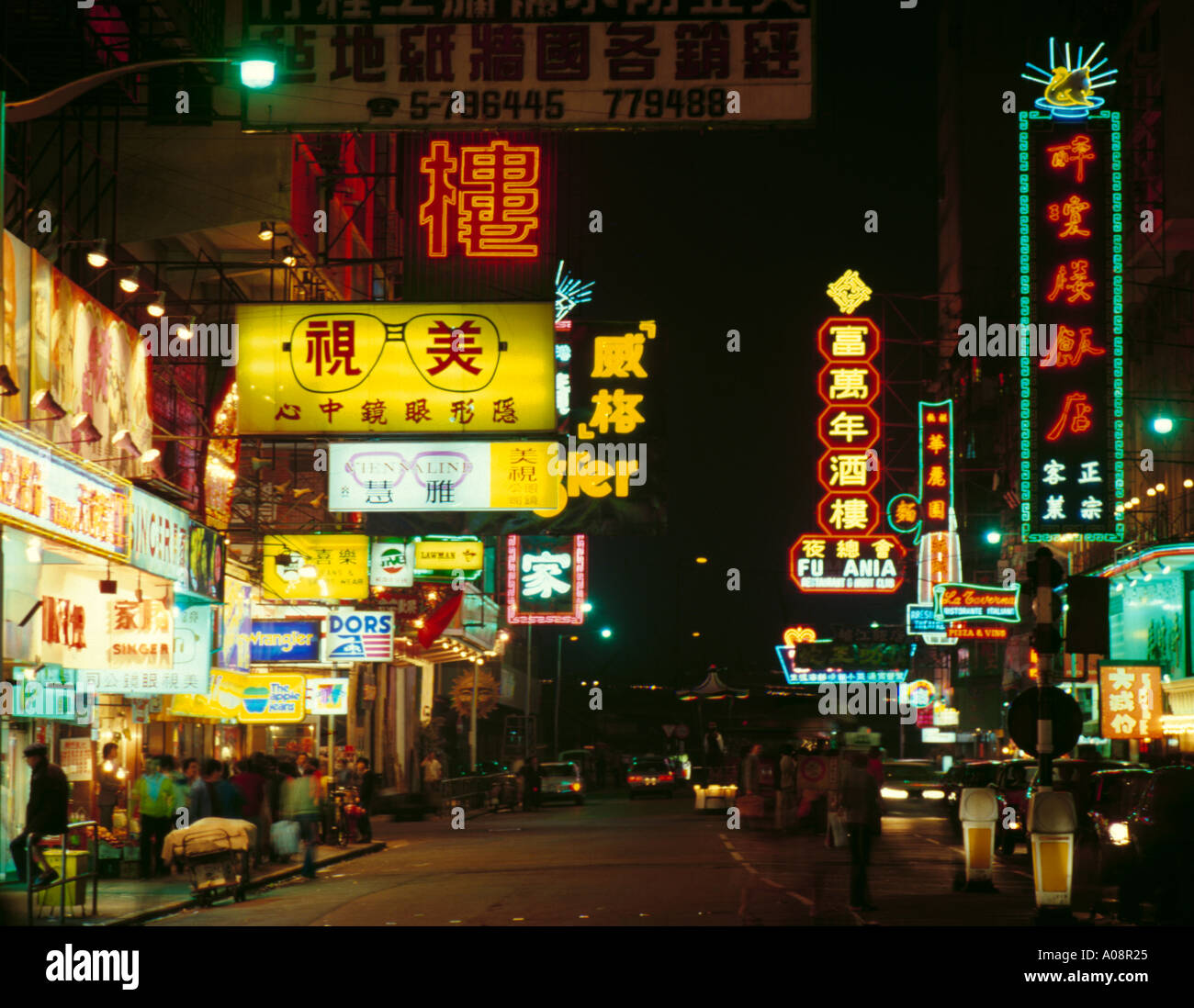 Neon Lights, Hennessy Road, Causeway Bay, Hong Kong Island