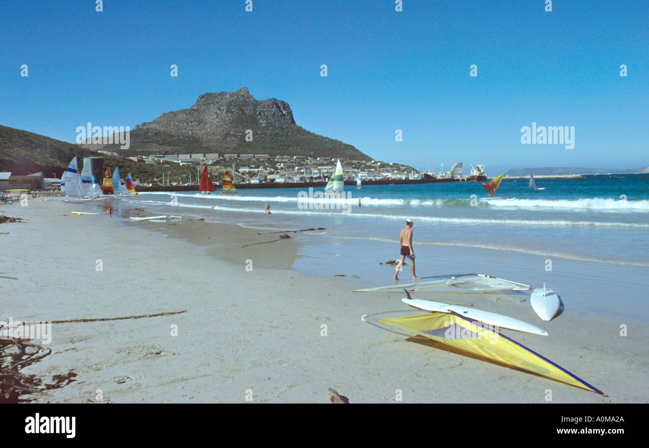 Beach at Hout Bay South Africa Stock Photo