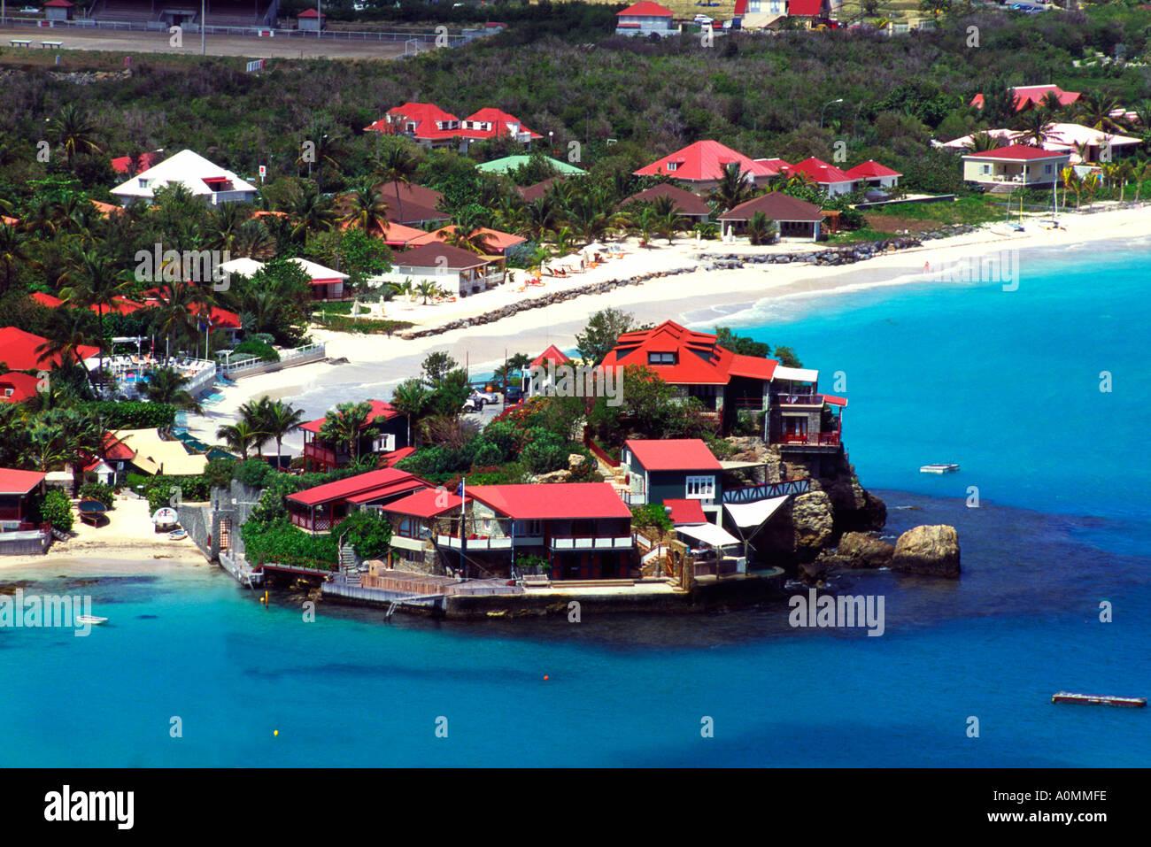Eden Rock Hotel St Barths French West Indies Stock Photo