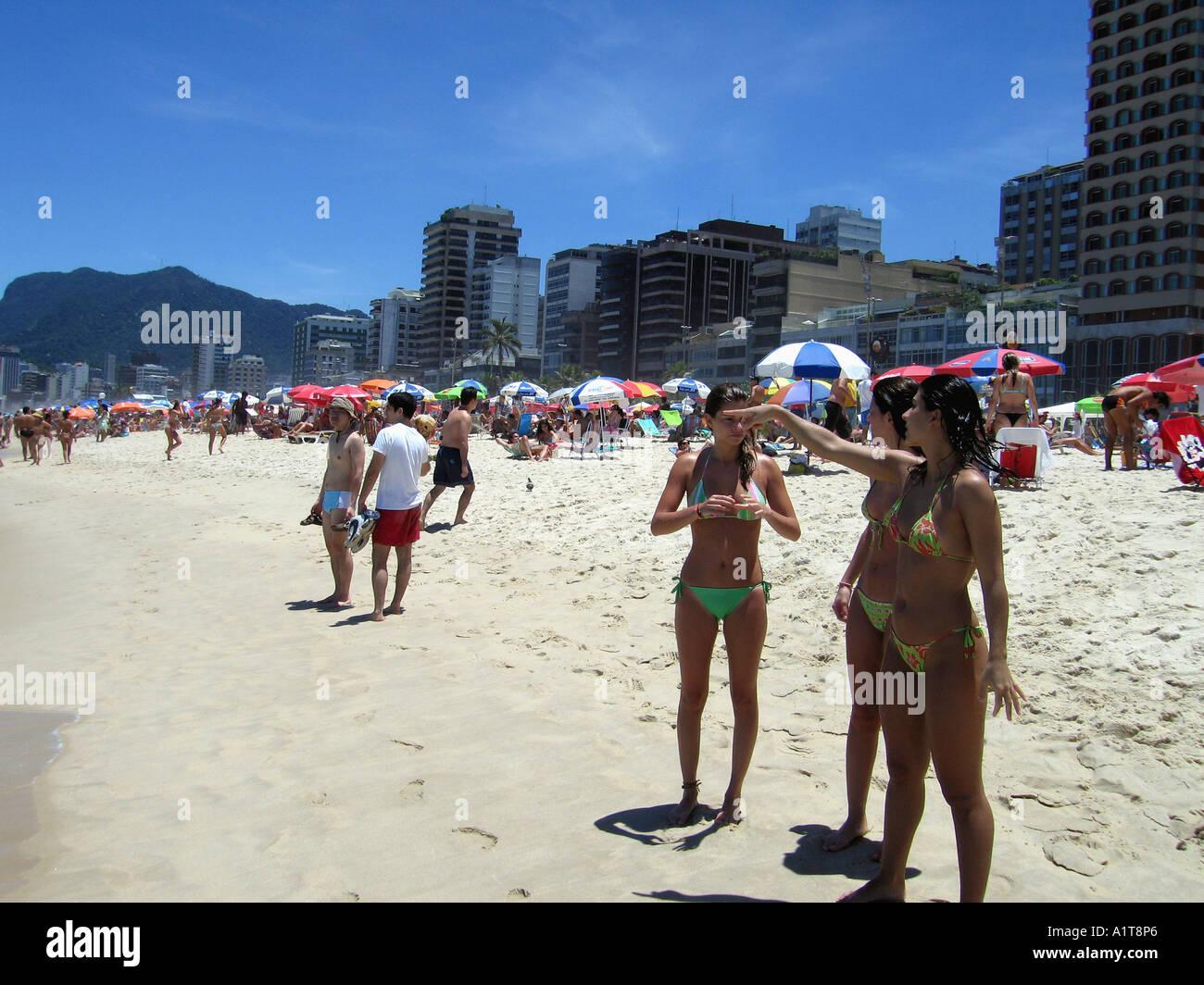 ipanema beach women