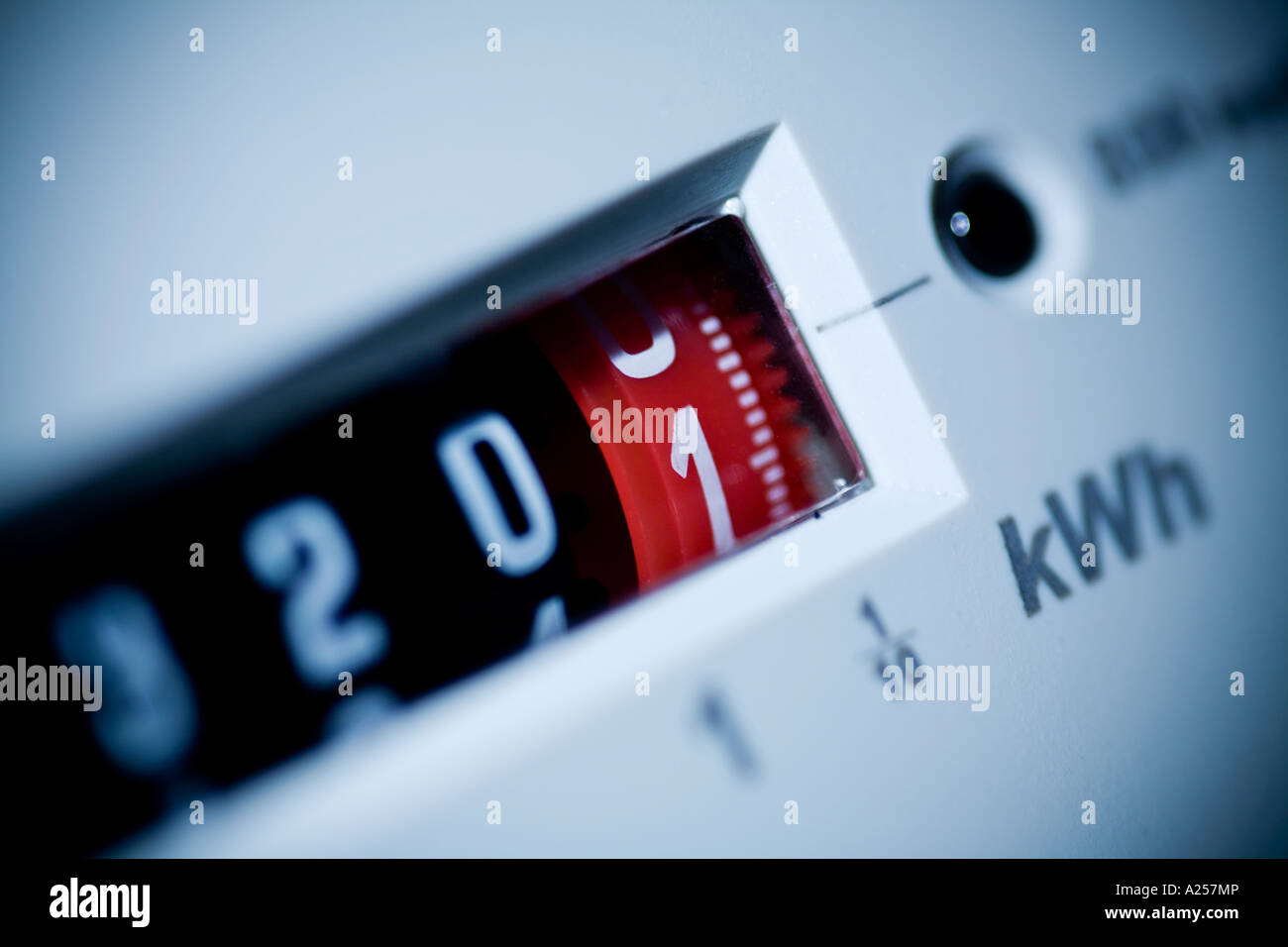 Electricity meter Stock Photo