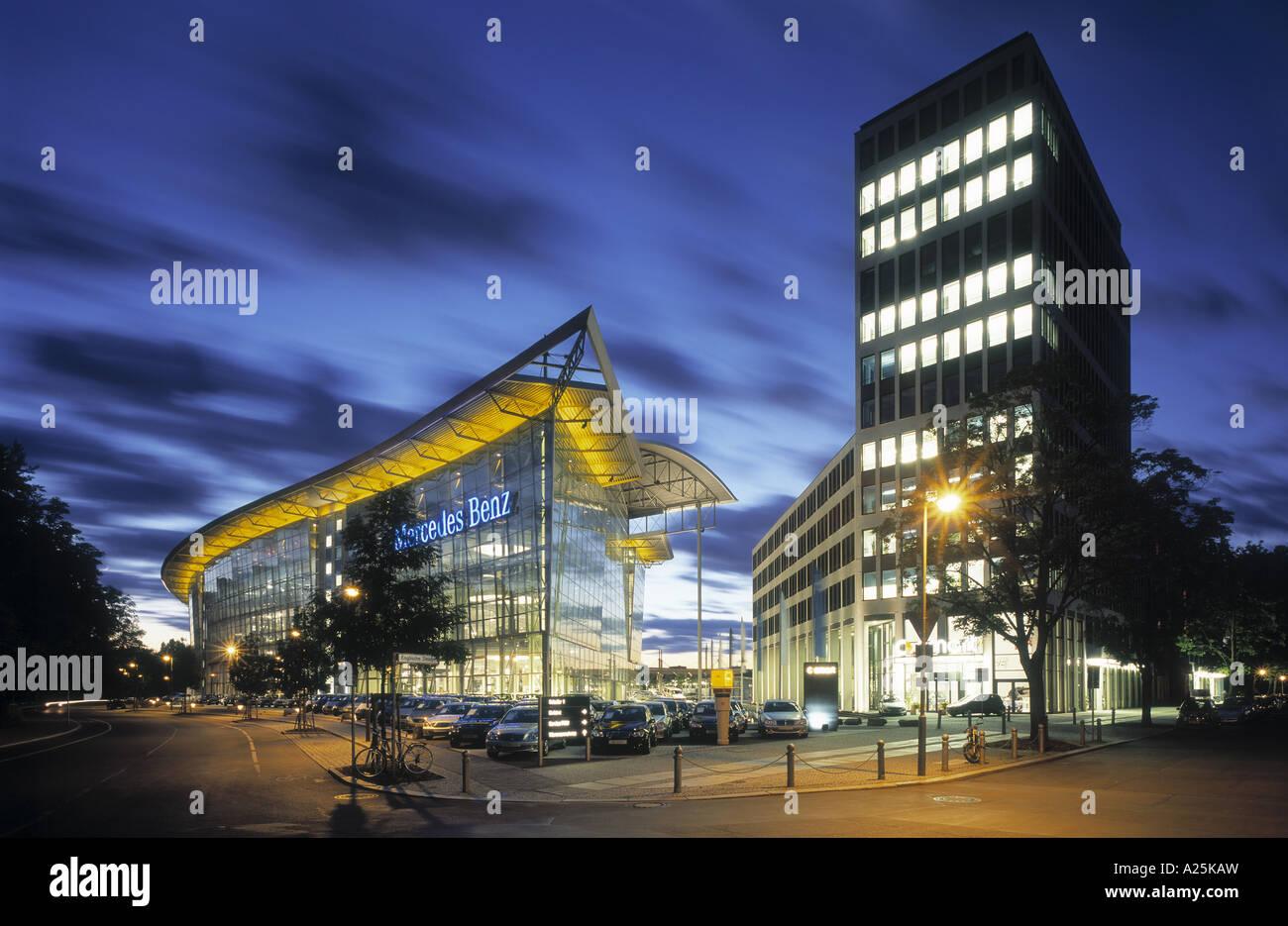 Mercedes benz dealership near salzufer germany berlin for Nearby mercedes benz dealerships