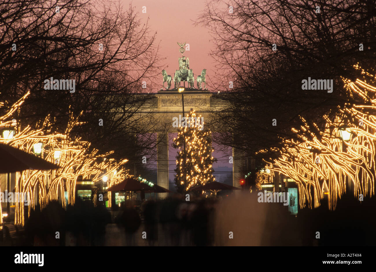europa europe germany deutschland berlin brandenburger tor gate stock photo royalty free image. Black Bedroom Furniture Sets. Home Design Ideas